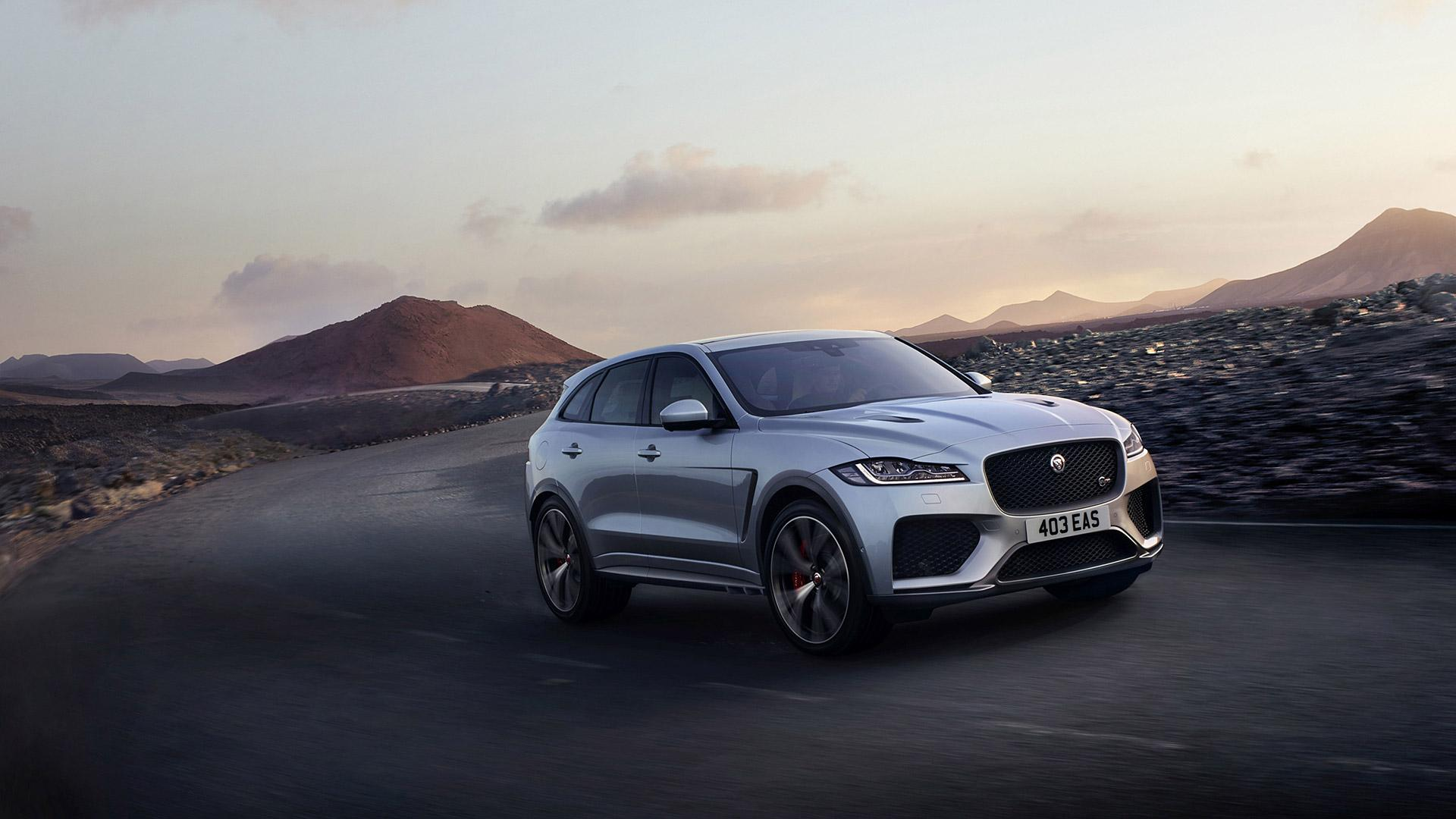 2019 Jaguar F-Pace SVR Wallpapers & HD Images - WSupercars