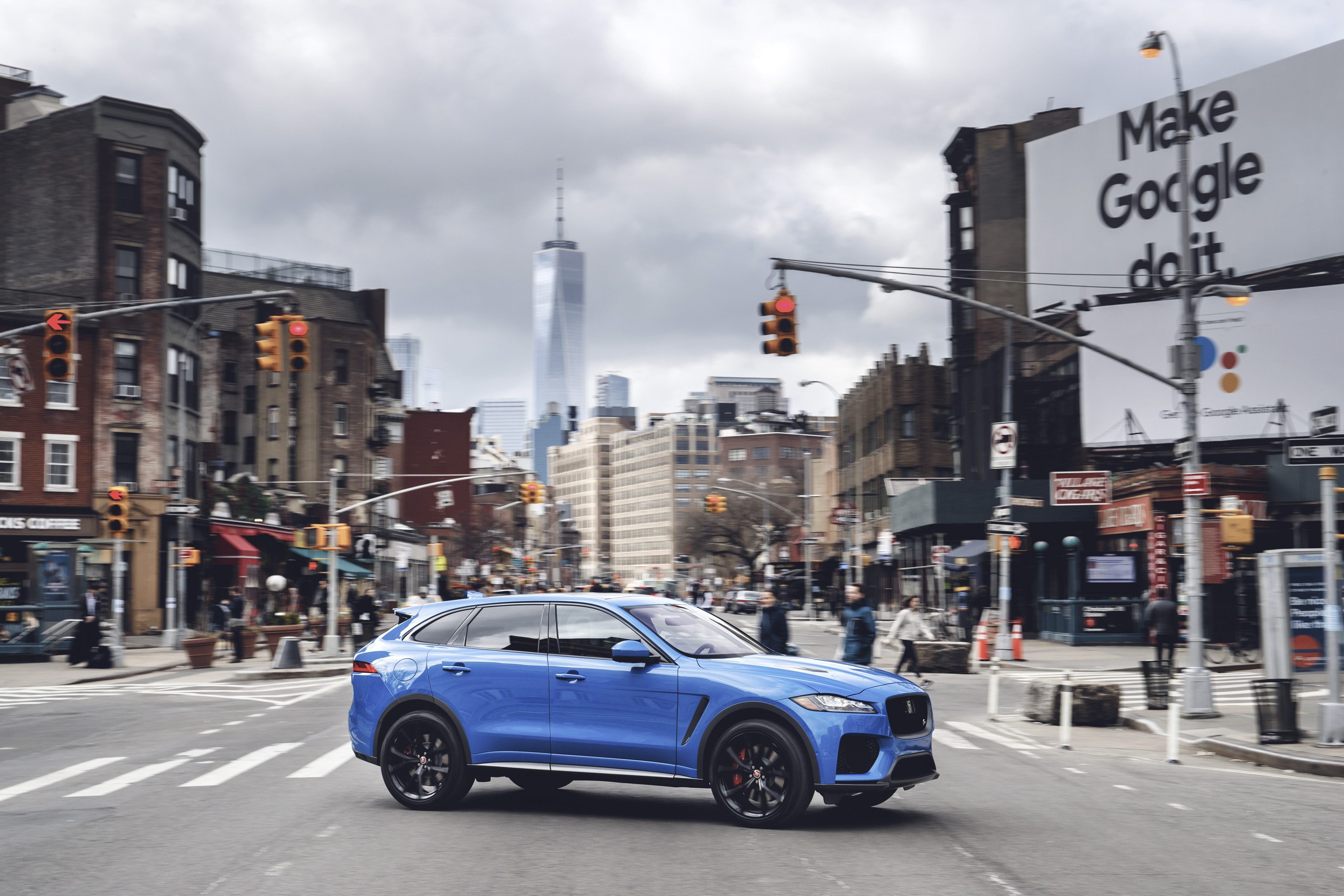 Wallpaper Of The Day: 2018 Jaguar F-Pace SVR | Top Speed
