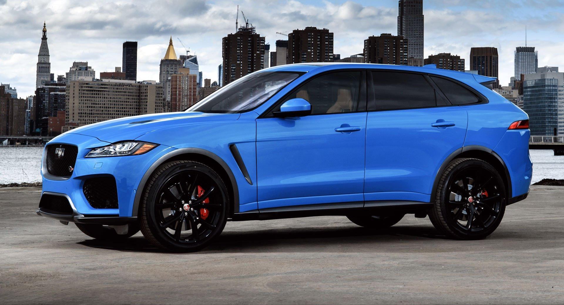2019 Jaguar F-Pace SVR Packs A 542HP Supercharged V8, Priced From ...