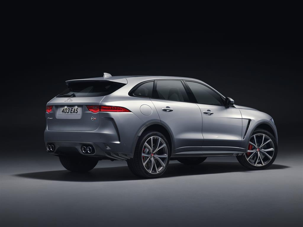 2018 Jaguar F-Pace SVR Wallpaper and Image Gallery
