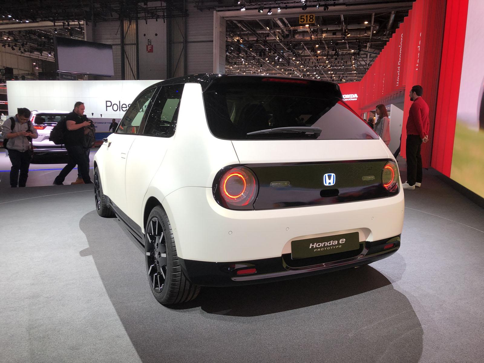 Honda e Prototype Pictures And Info From The Geneva Auto Show ...