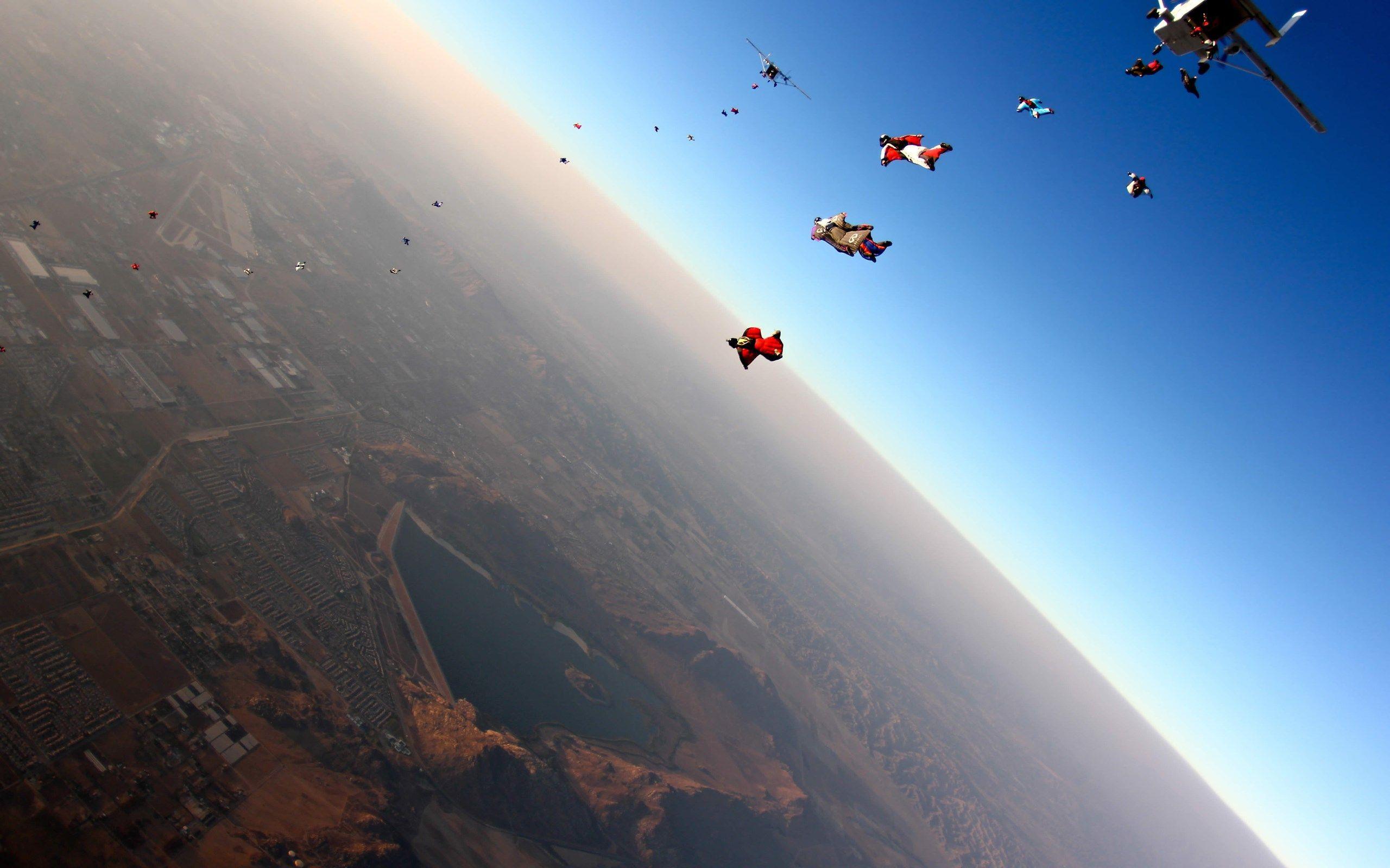 Wallpapers for Desktop: skydiving