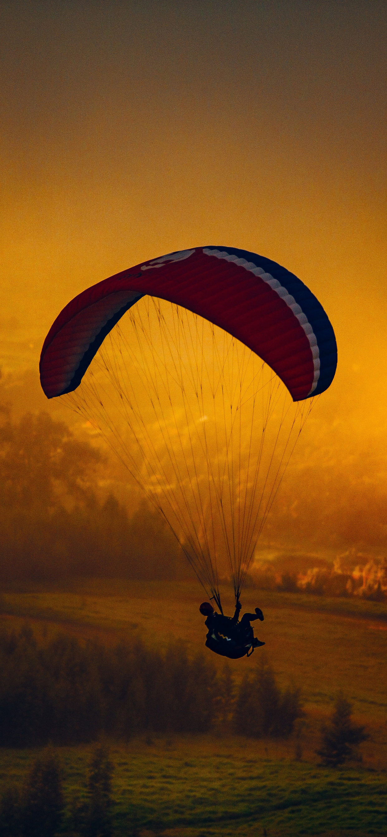 1242x2688 Parachuting Landscape Nature Iphone XS MAX HD 4k