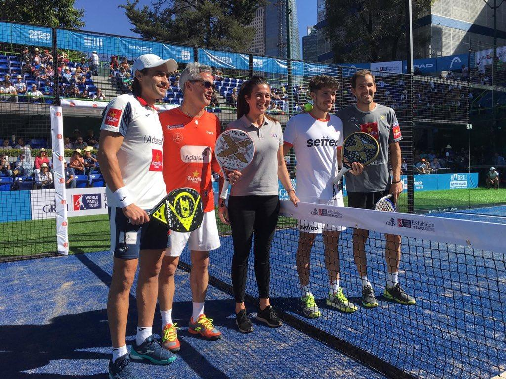 The semifinals of the Mexico Exhibition define the finalists | Padel ...