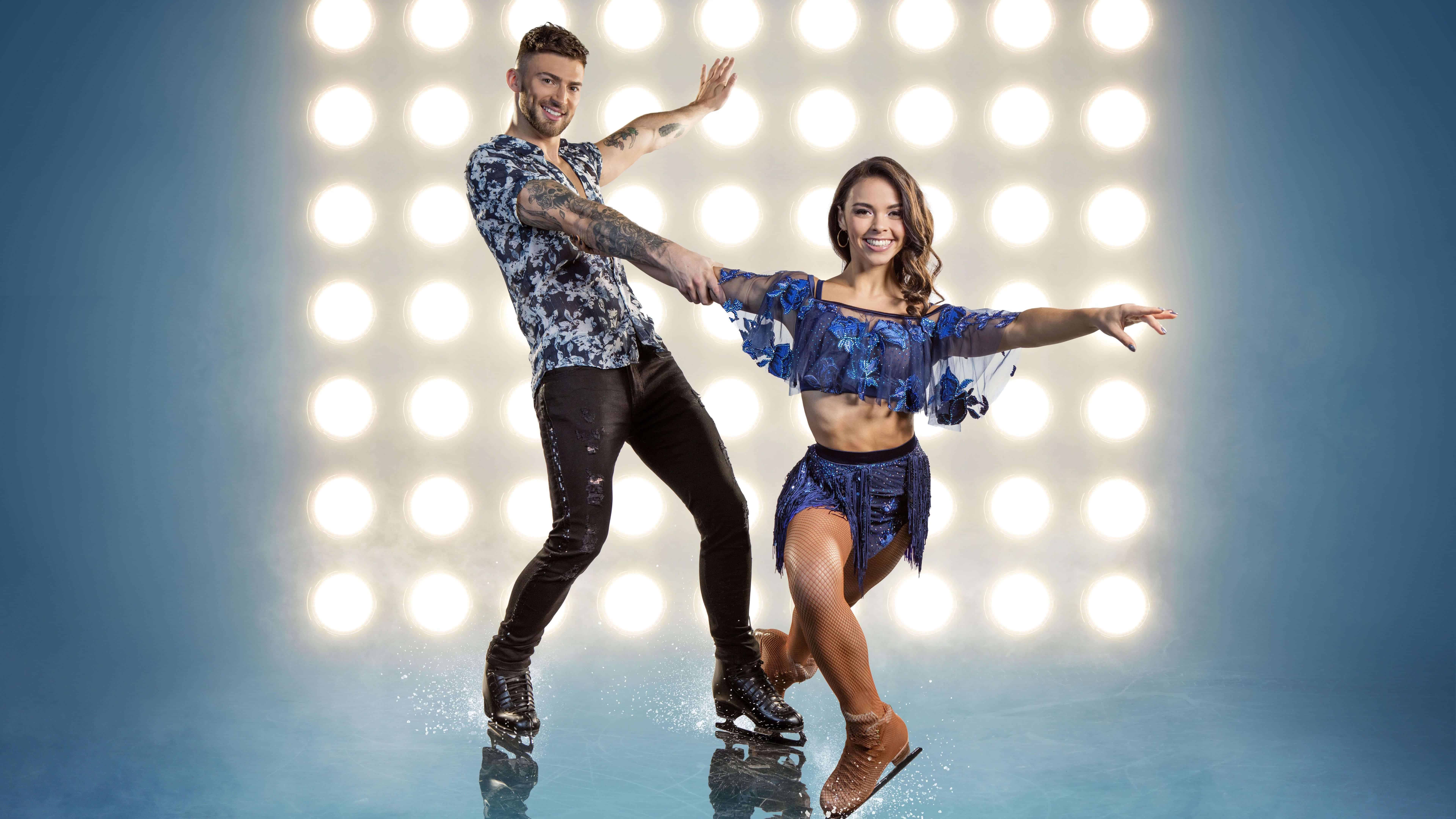 Dancing On Ice Jake Quickenden UHD 8k Wallpapers