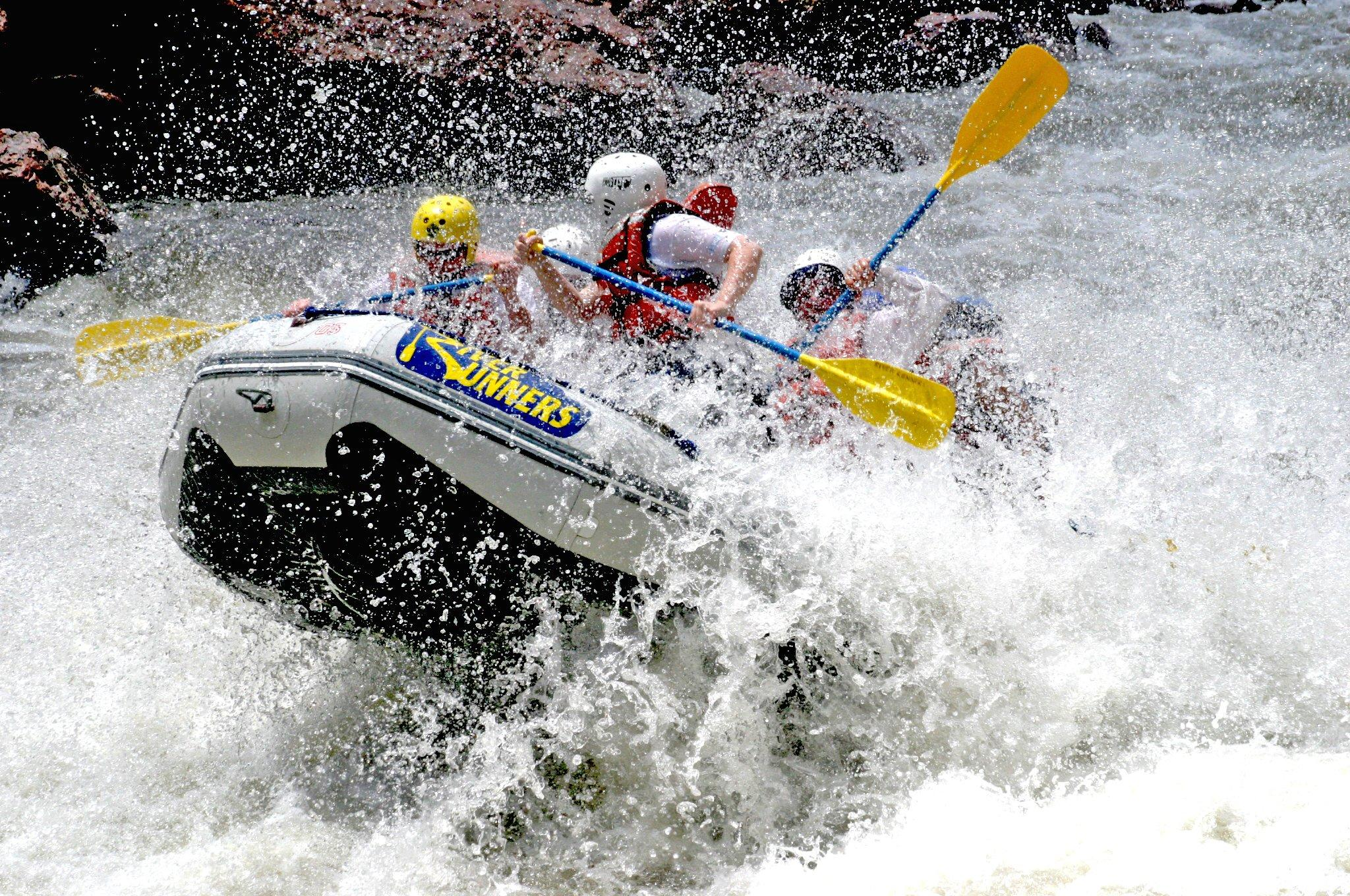 RAFTING river water boat sailing extreme wallpapers
