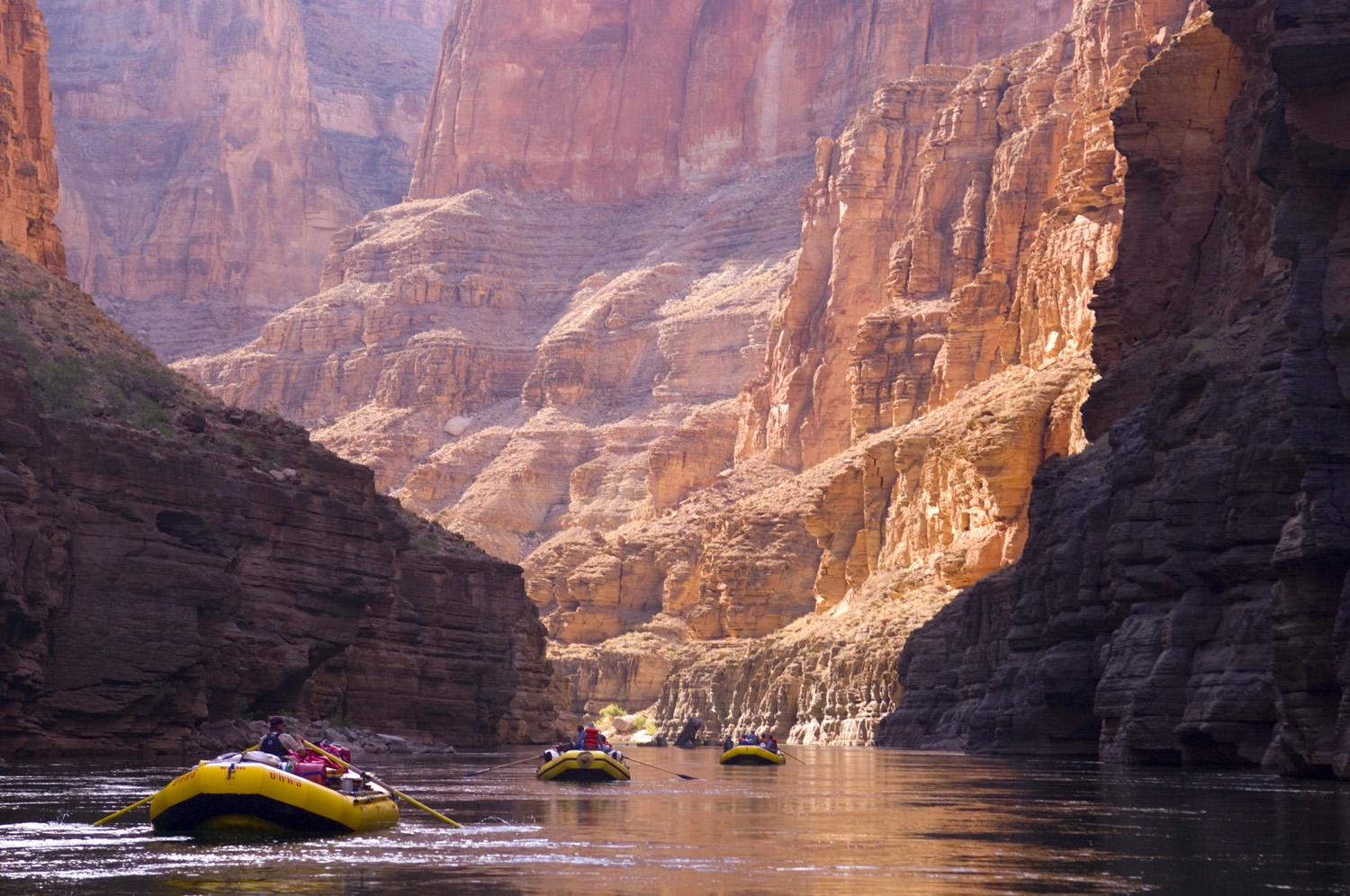 Grand Canyon River Rafting HD Wallpaper, Backgrounds Image