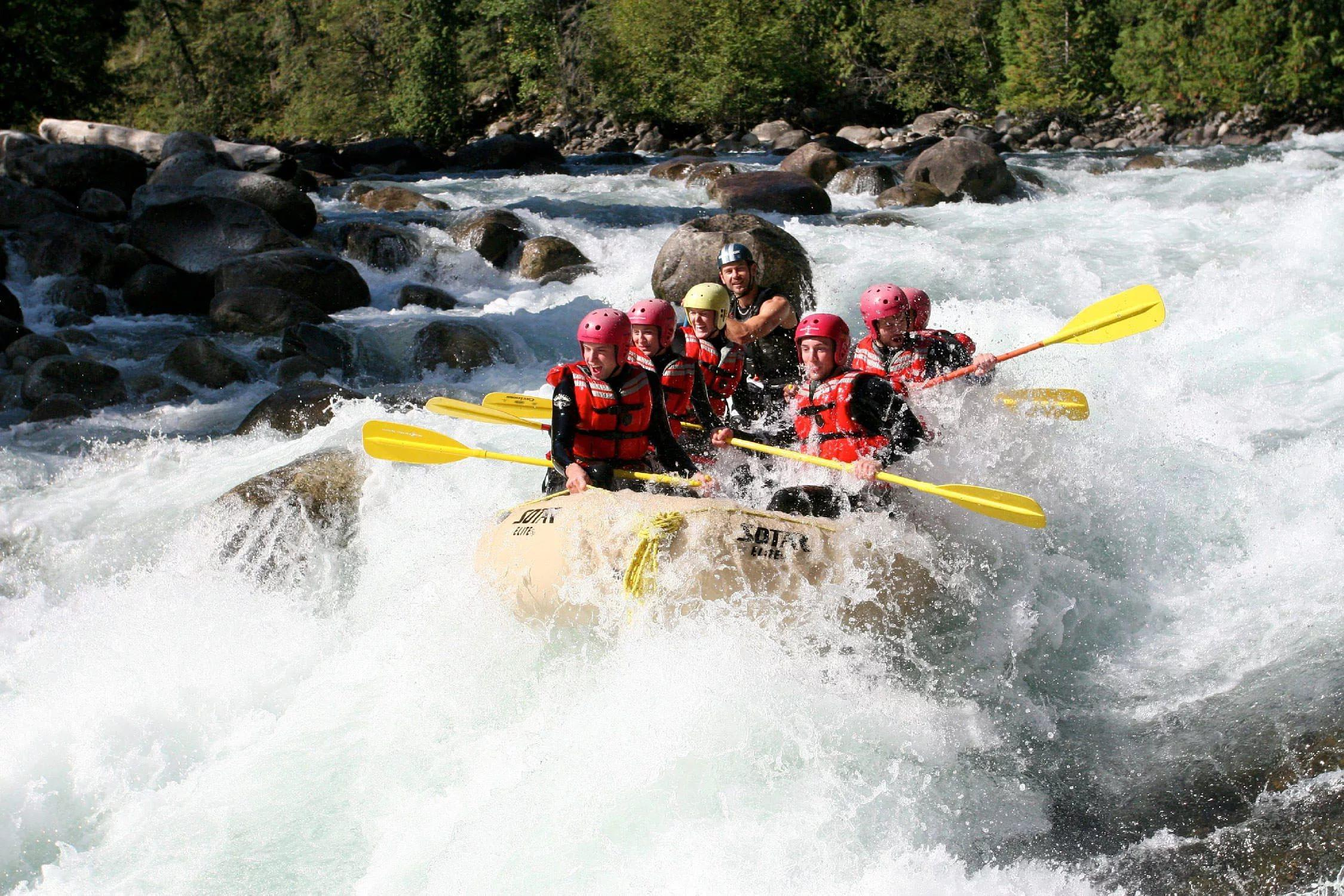 White Water Rafting Wallpapers Widescreen Image Photos Pictures