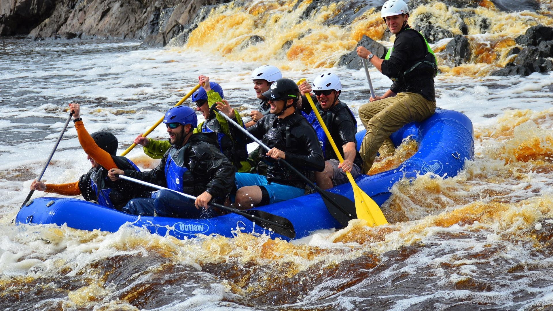 White Water Rafting Wallpapers 29