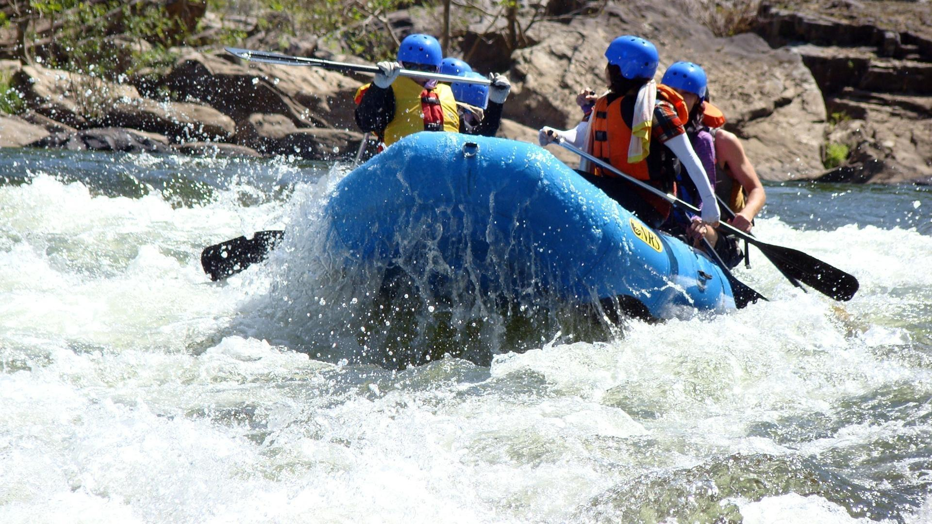 White Water Rafting Wallpapers HD Download