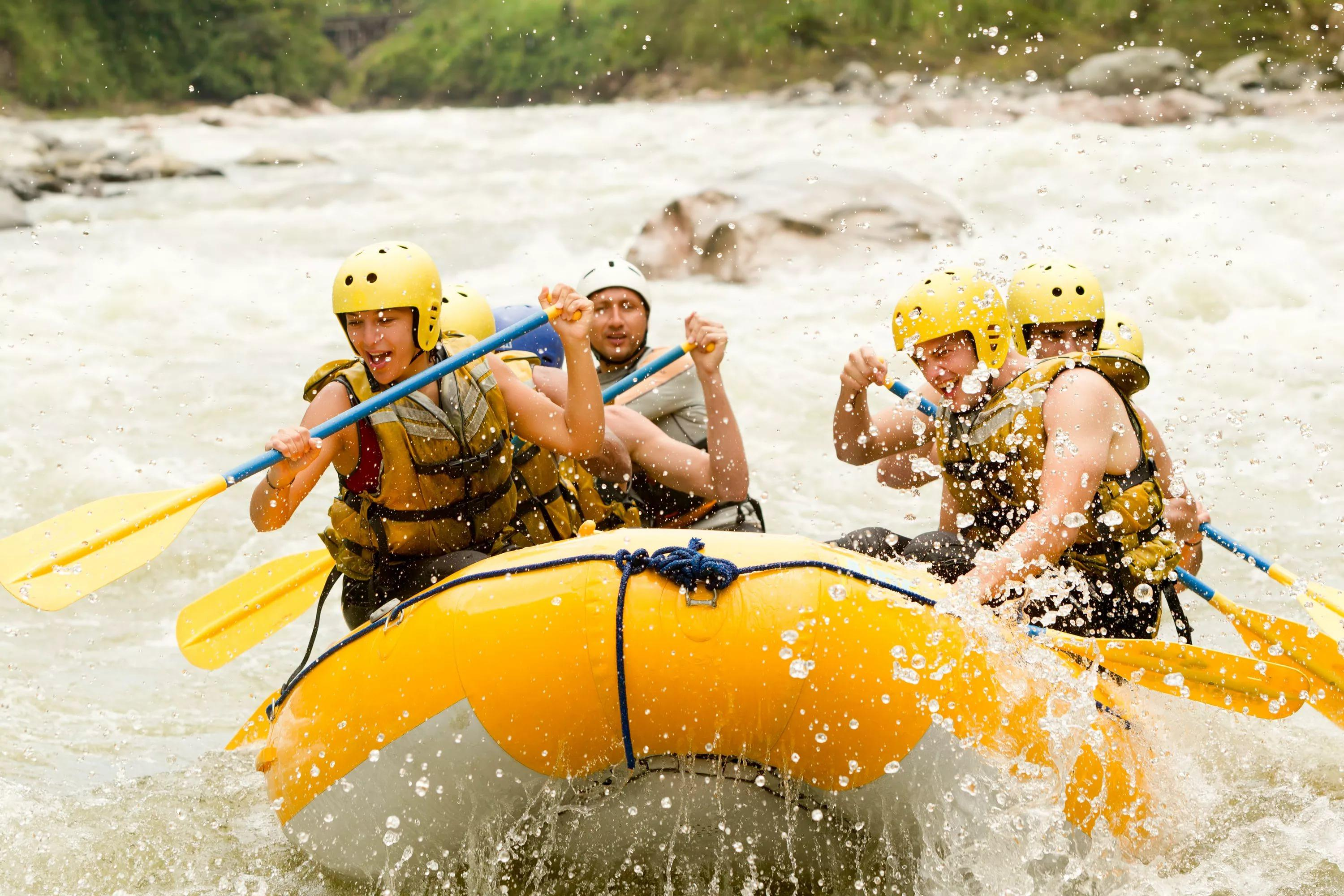 White Water Rafting HD Wallpapers free