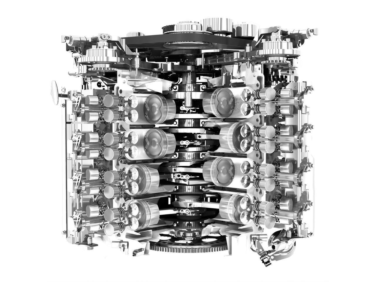 2009 jaguar xf - engine cutaway - 1280x960 - wallpaper