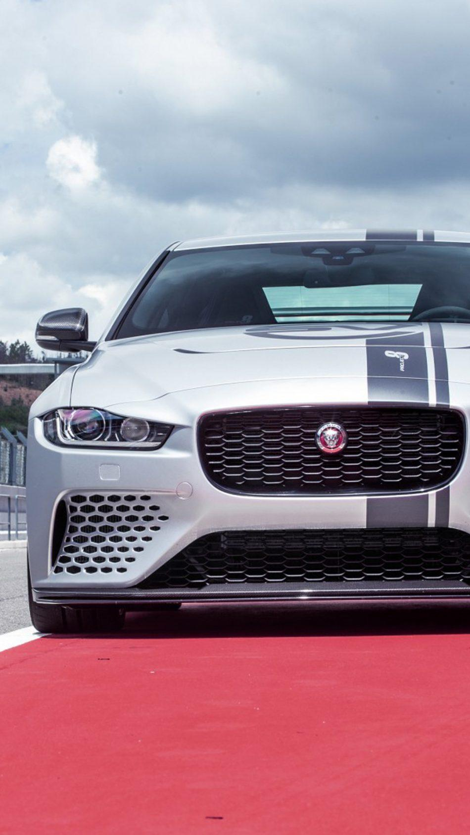 Download Jaguar XE SV Project 8 Free Pure 4K Ultra HD Mobile Wallpapers