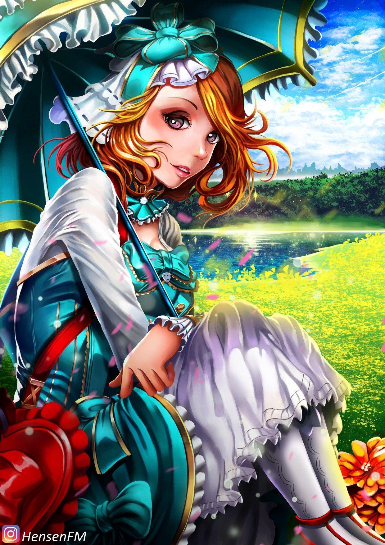 Kagura Mobile Legends Wallpaper HD 4k