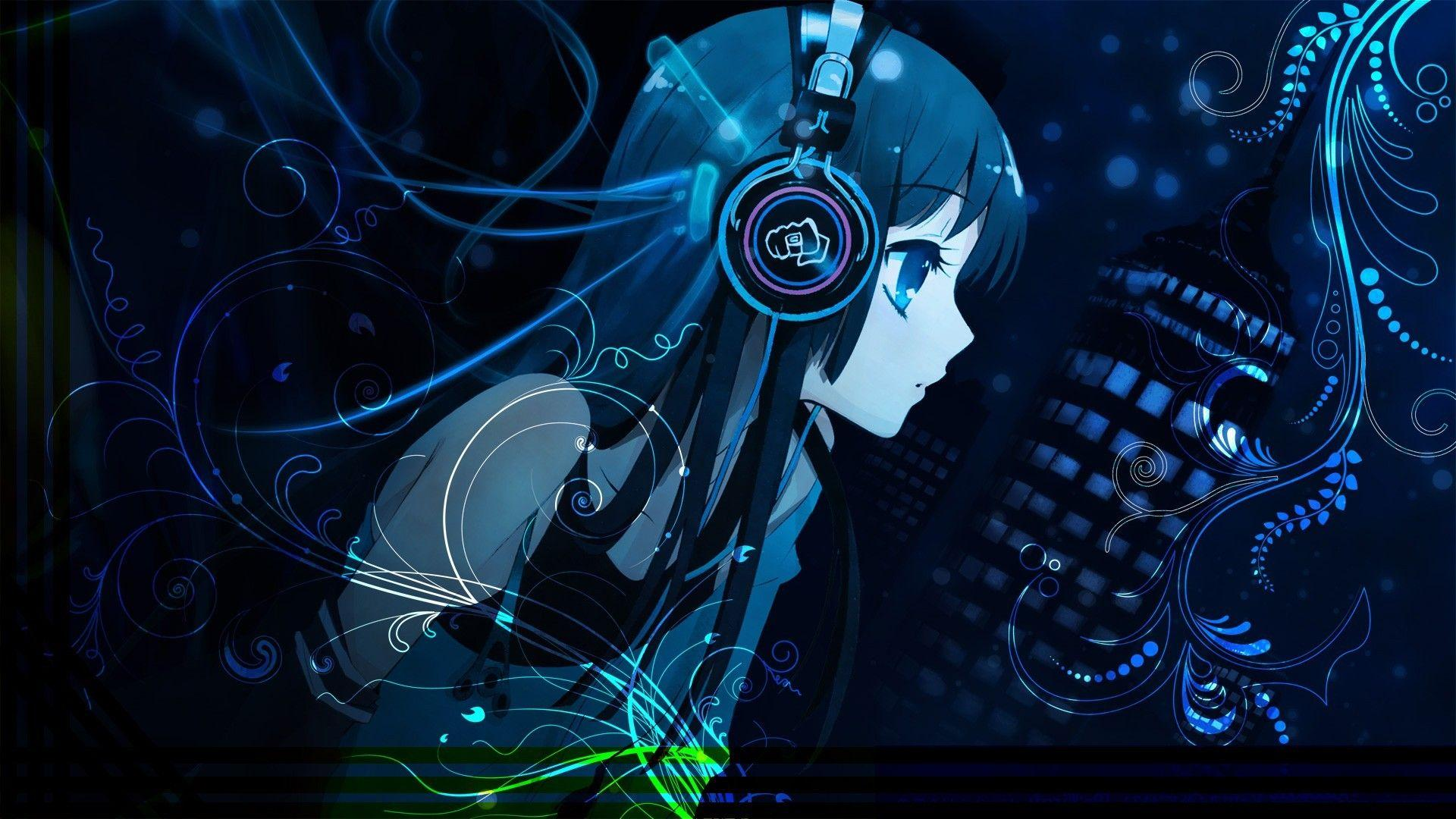Anime Music Girl Wallpapers in high Quality Anime Wide HD