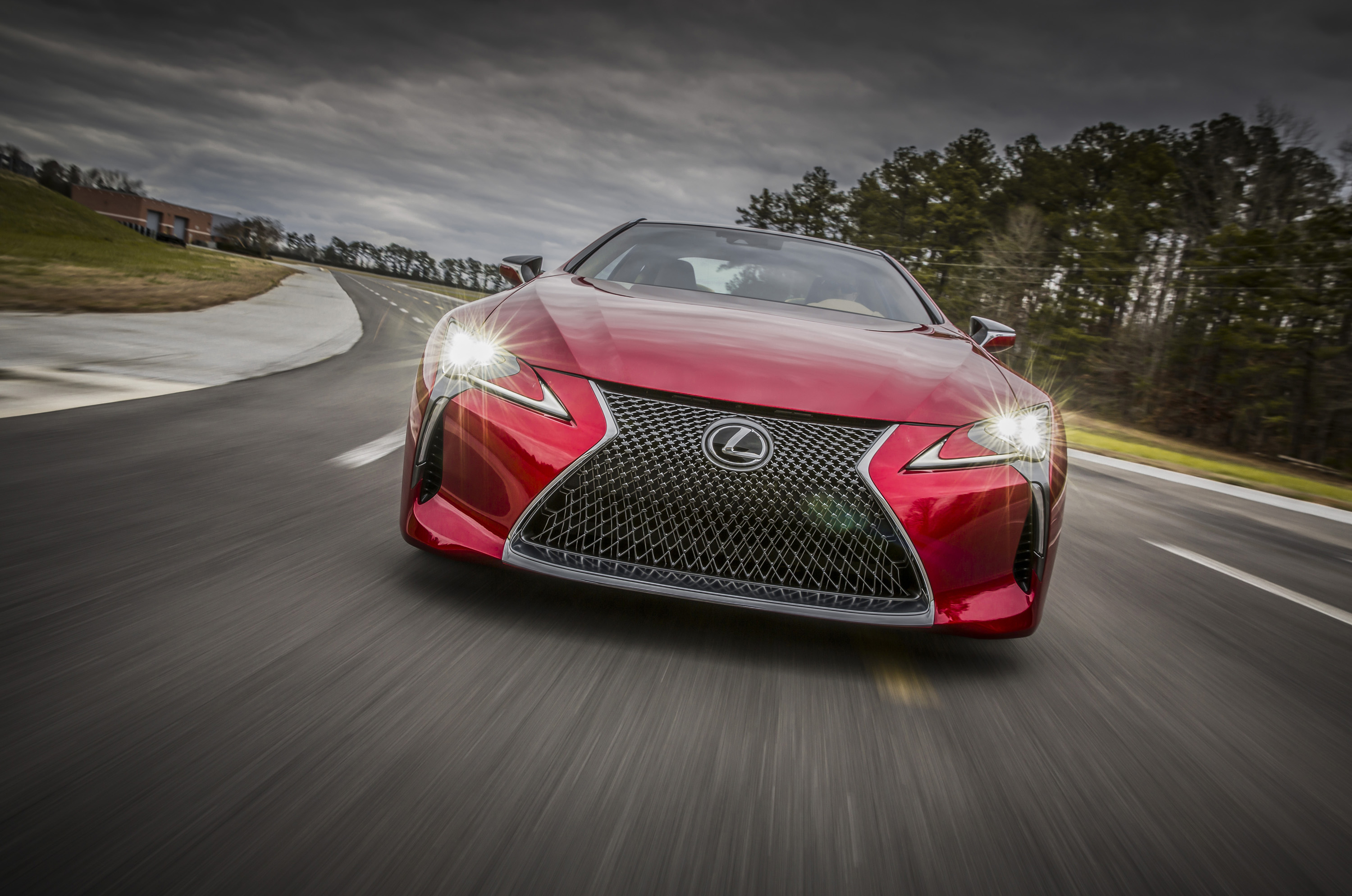 The Lexus LC 500 is a big, powerful, flagship coupe — and it won't ...