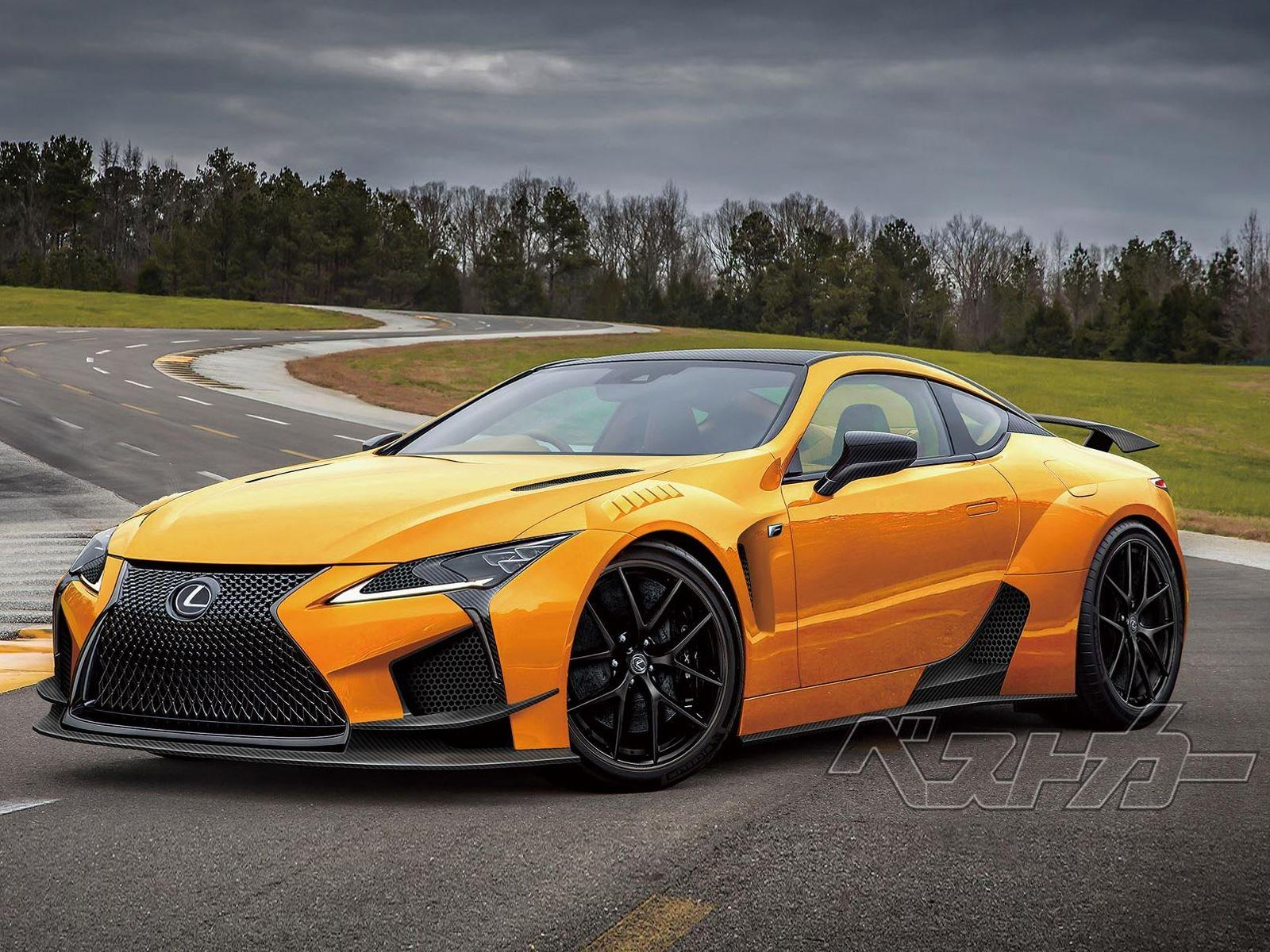 600-HP Lexus LC F Won't Join The Party Until 2022? | CarBuzz