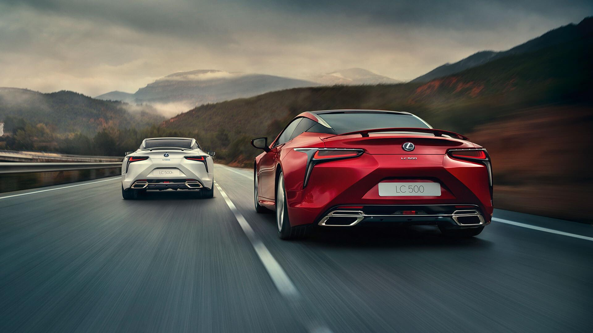 LC 500 & 500h | 2019 Performance Coupé | From £76,600 New | Lexus UK