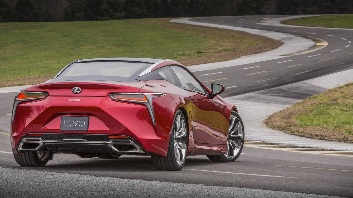 Lexus Denies Rumor of New 600-Horsepower Lexus LC F - The Drive