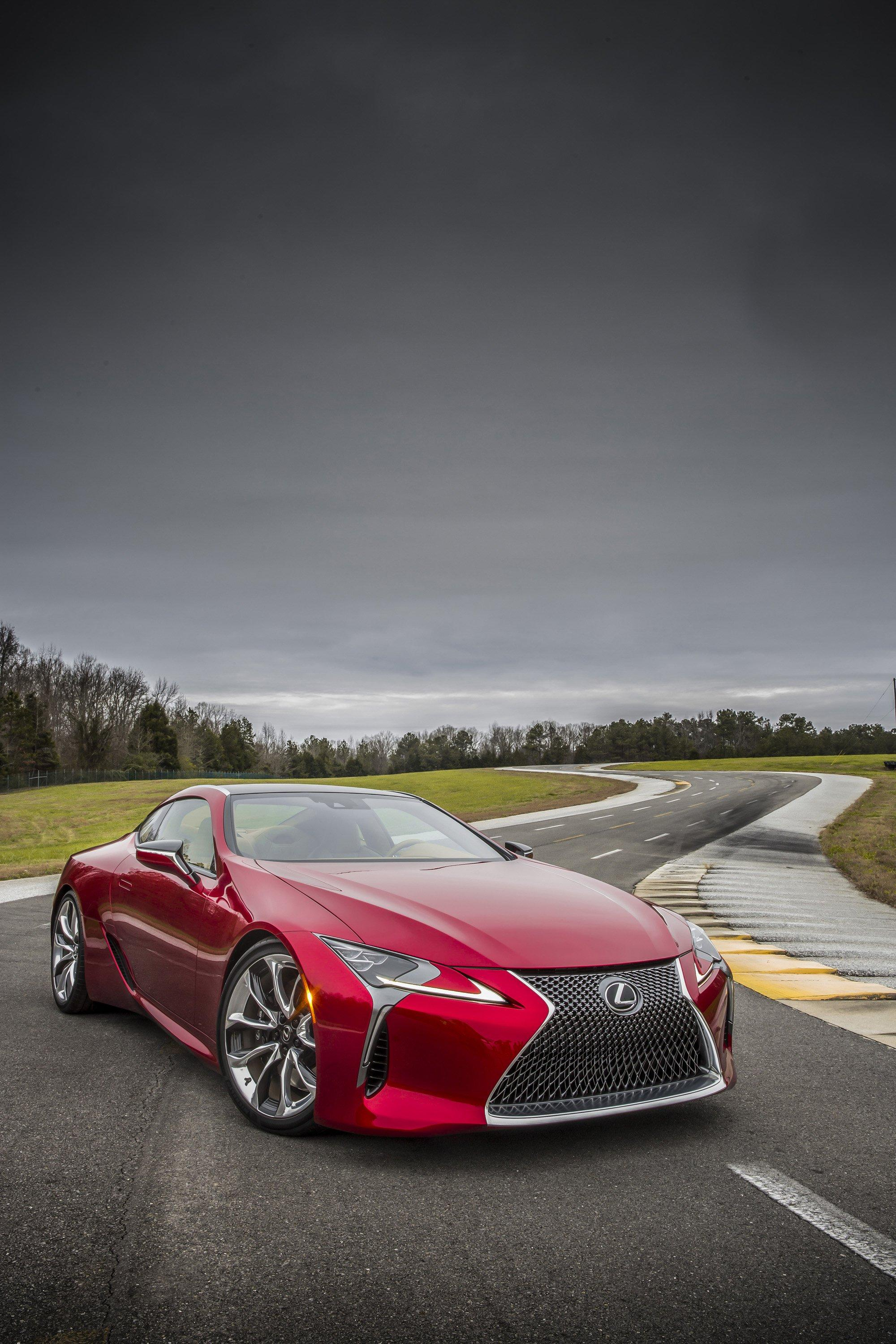 Wallpaper Of The Day: 2018 Lexus LC500 | Top Speed