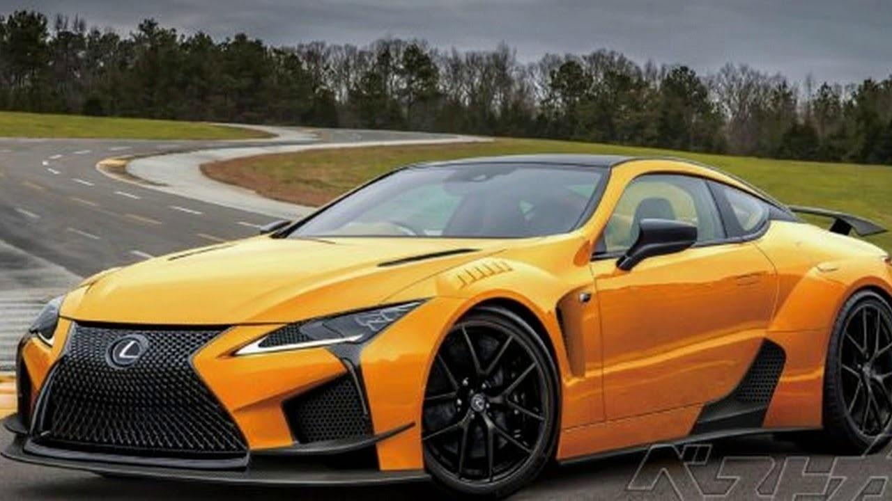 when will the 2019 Lexus Lc 500 Coupe Lc F look like