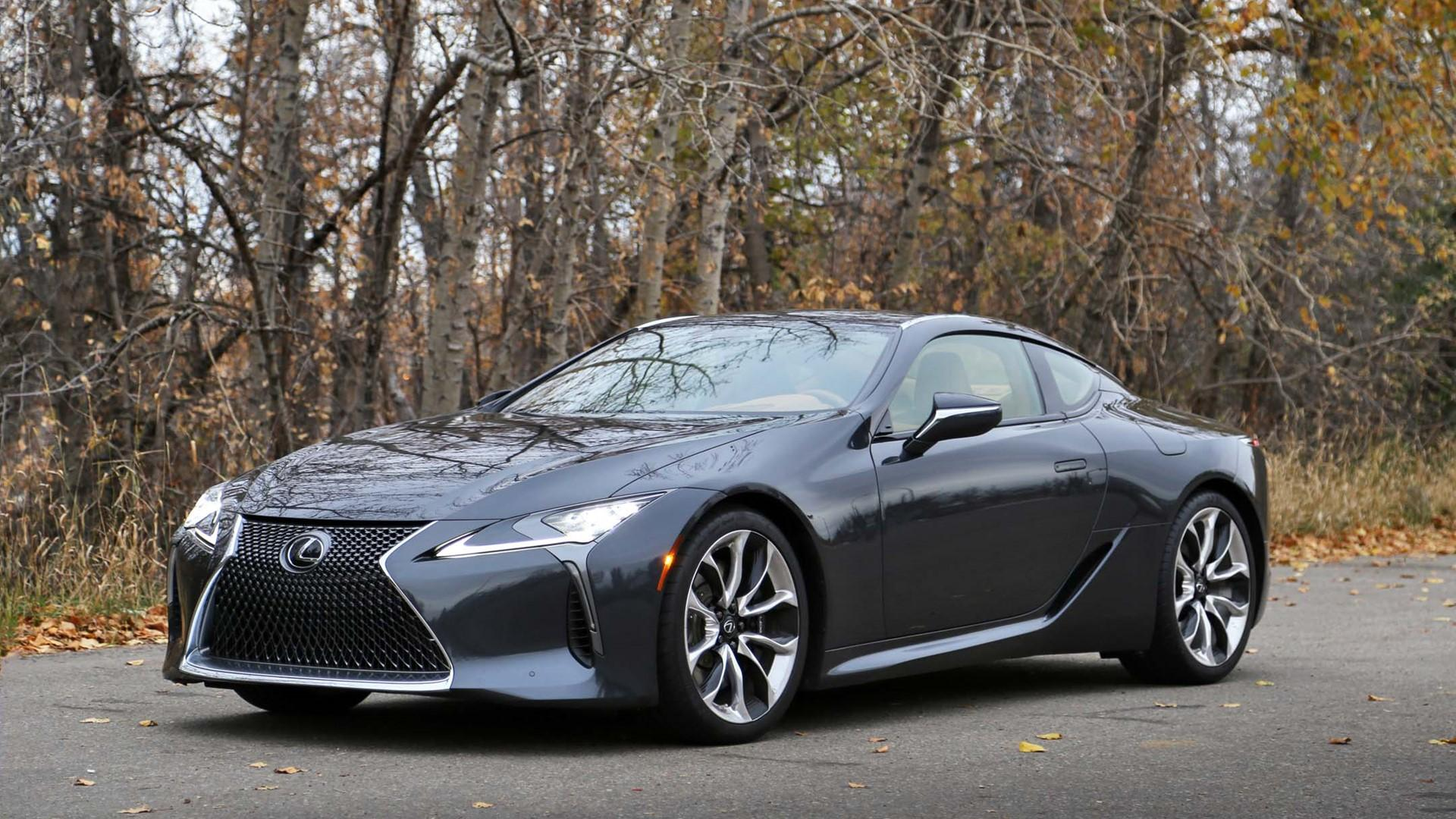 2018 Lexus LC 500 Test Drive Review