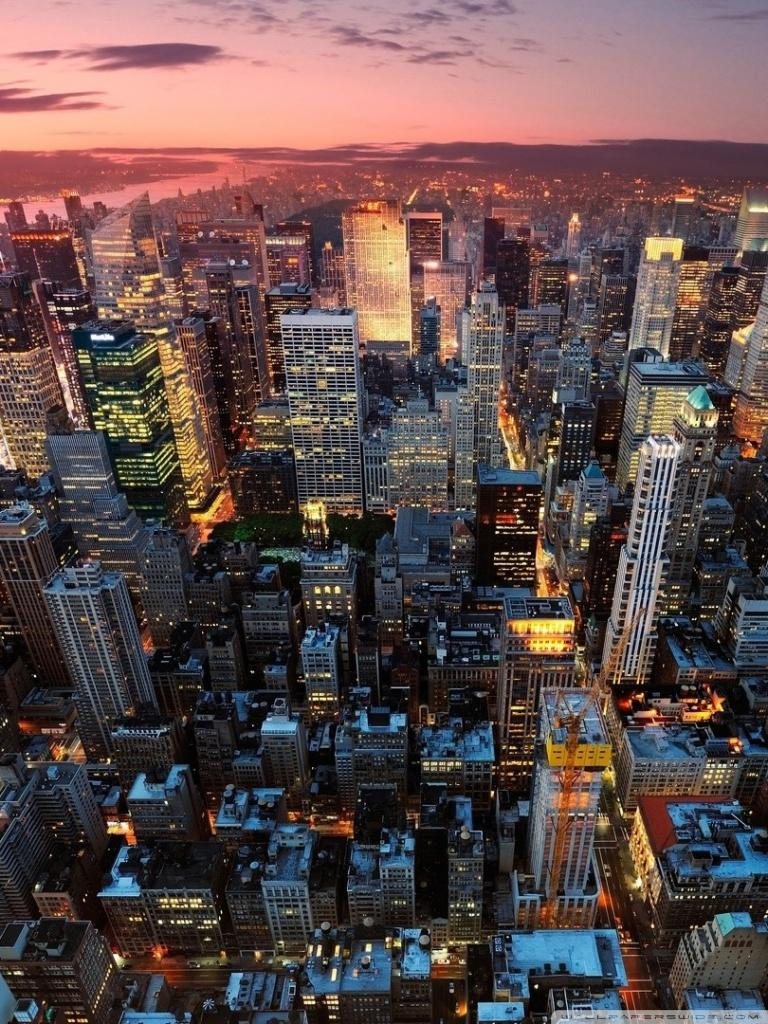 Los Angeles Vs New York City Wallpapers Wallpaper Cave