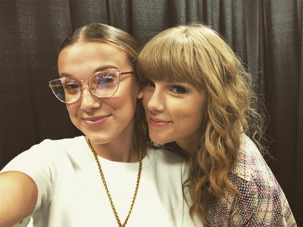Millie Bobby Brown Had the Best Time at a Taylor Swift Reputation