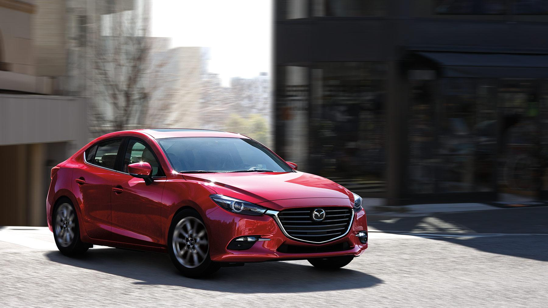 2019 Mazda 3 Sedan compact car hd wallpapers