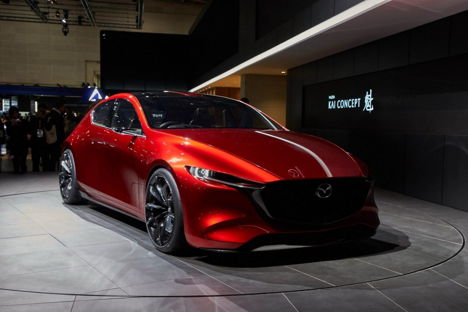 2019 Mazda3 Tail Light High Resolution Wallpapers