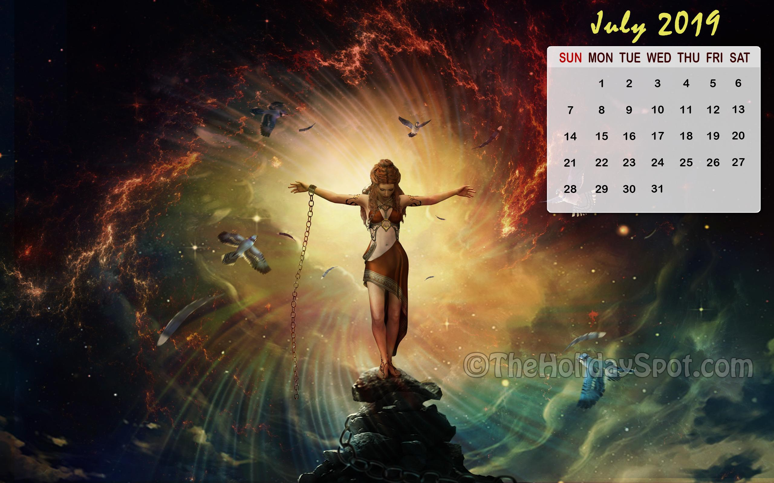 Month wise Calendar Wallpapers of 2018