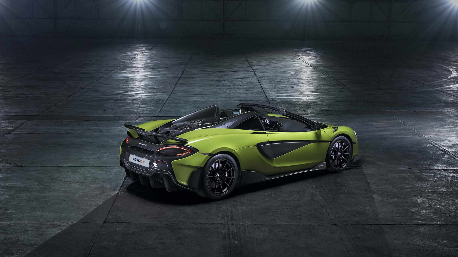 2020 McLaren 600LT Spider Wallpapers & HD Images - WSupercars