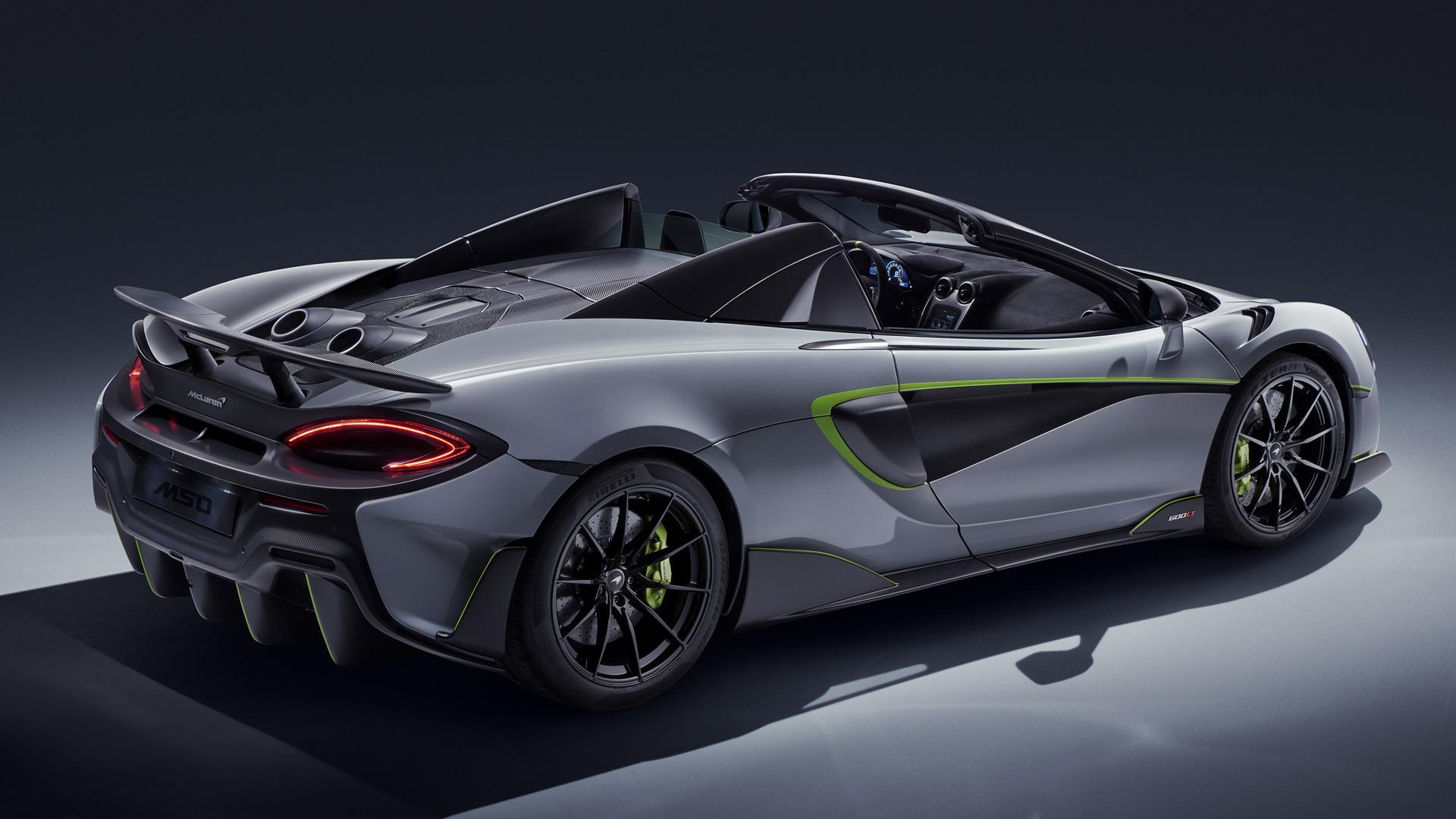 2019 McLaren 600LT Spider by MSO - Wallpapers and HD Images | Car Pixel