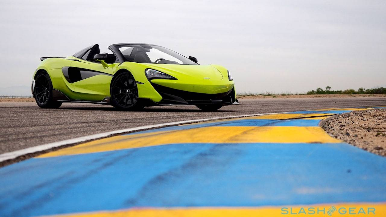 2020 McLaren 600LT Spider First Drive: Speed with a Soundtrack ...