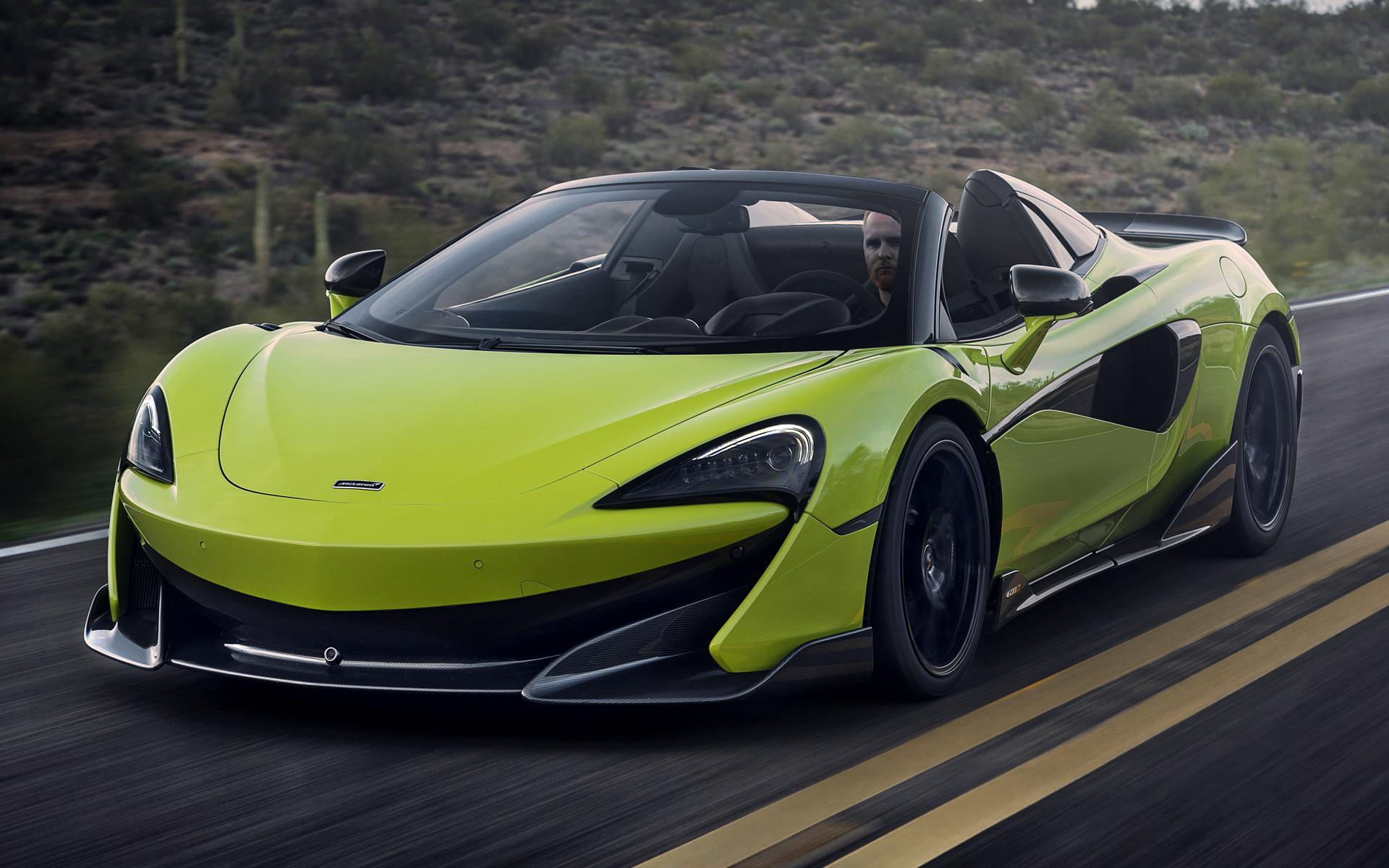 2019 McLaren 600LT Spider - Wallpapers and HD Images | Car Pixel