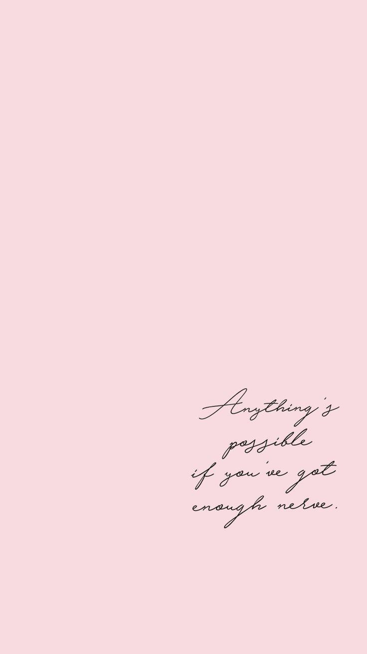 Aesthetic Quotes Wallpapers Wallpaper Cave
