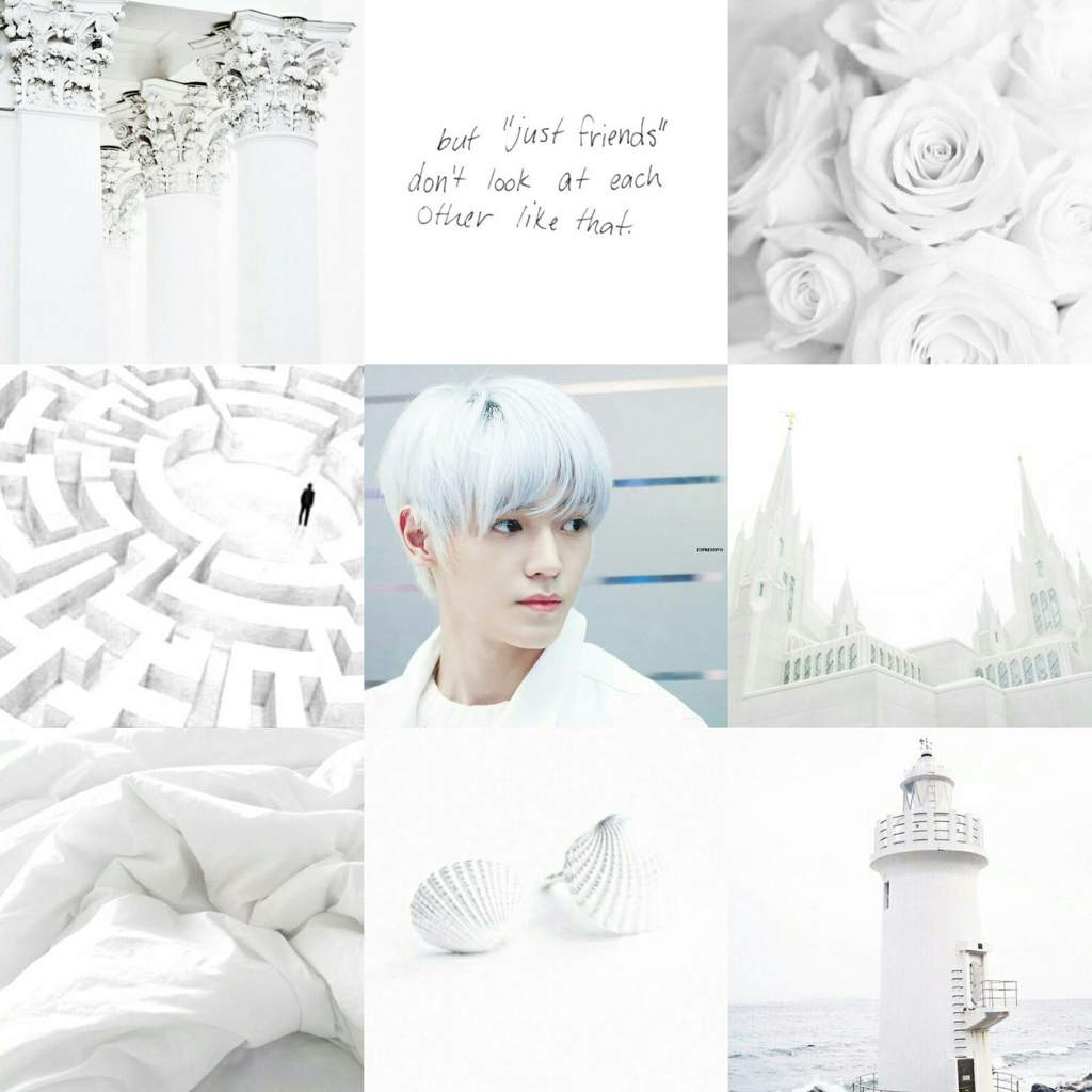Taeyong white aesthetic wallpapers