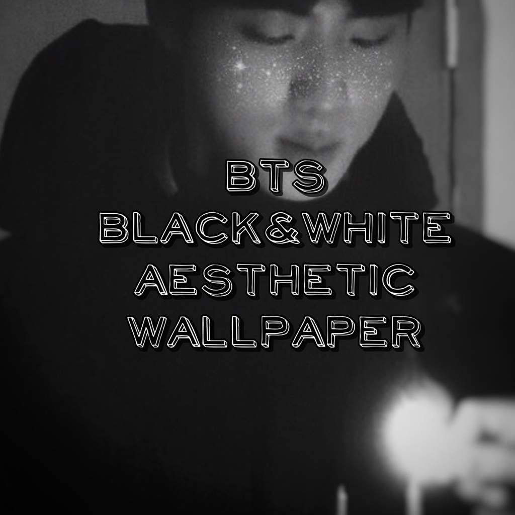 Bts Aesthetic Black Wallpapers Wallpaper Cave