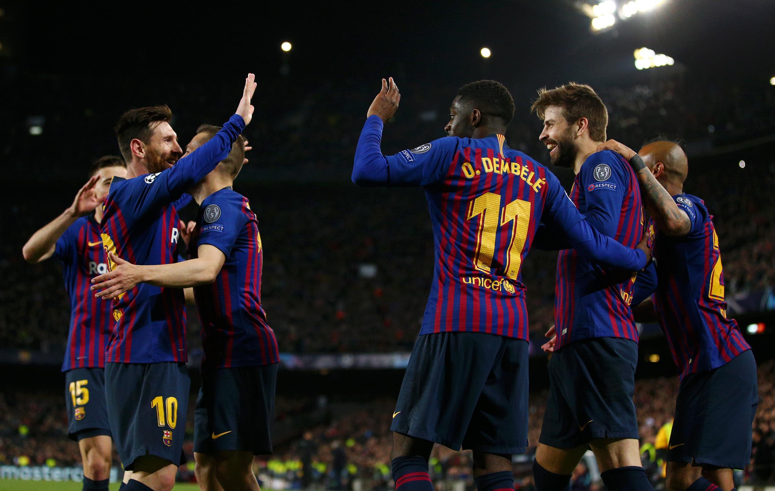 La Liga Champions Barcelona 2019 Wallpapers