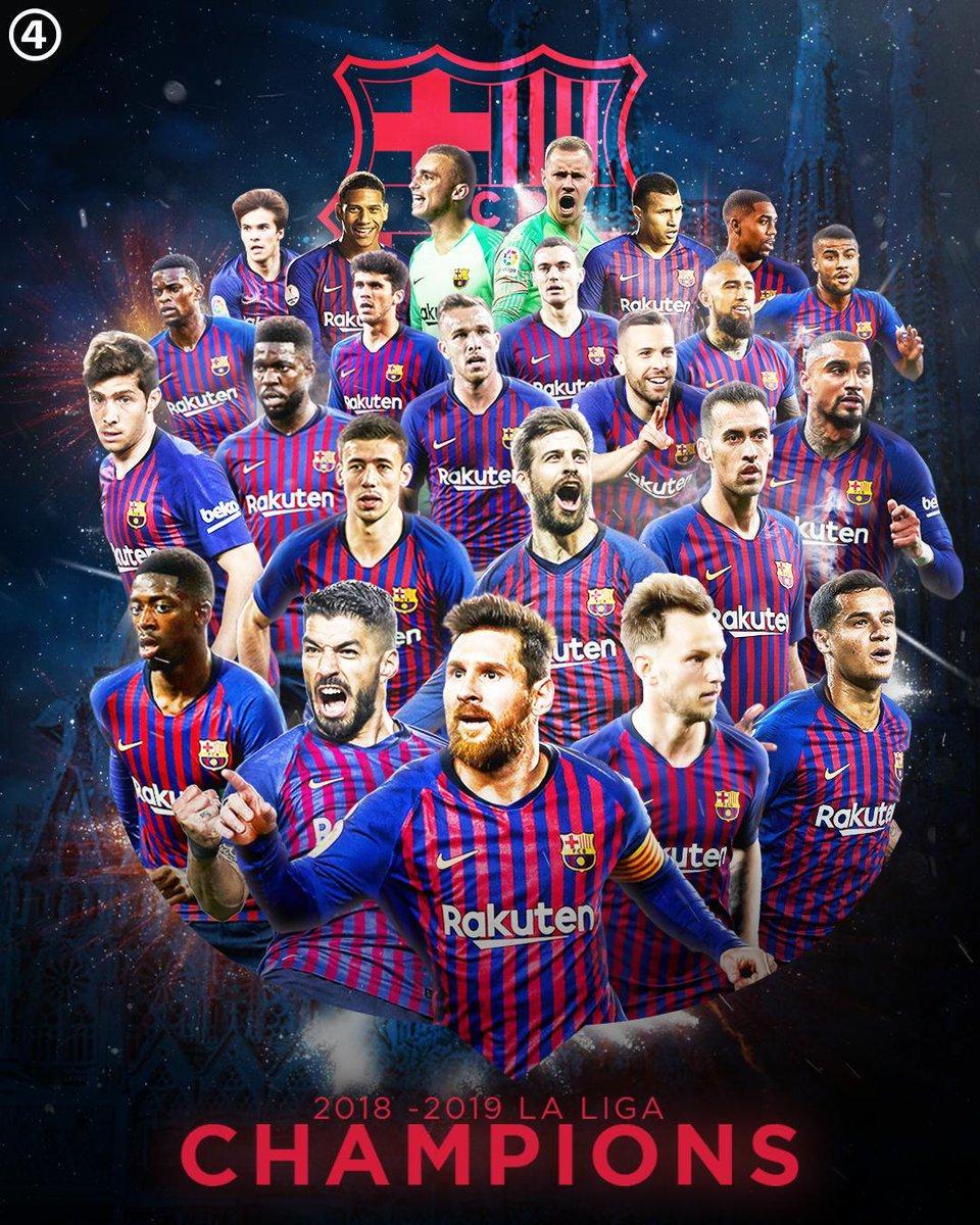 La Liga Champions Barcelona 2019 Wallpapers - Wallpaper Cave