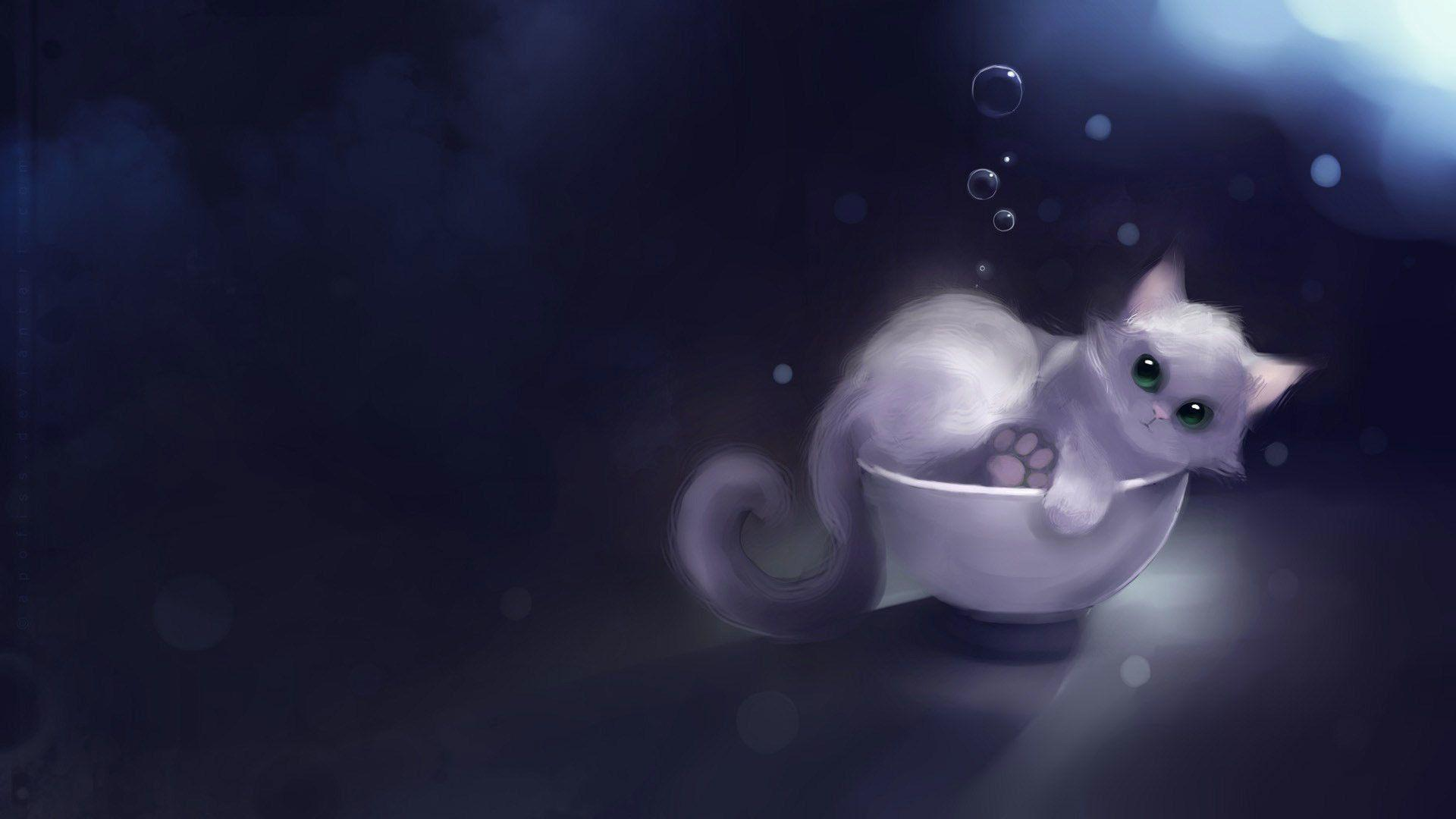 Animated Cats Wallpapers Wallpaper Cave