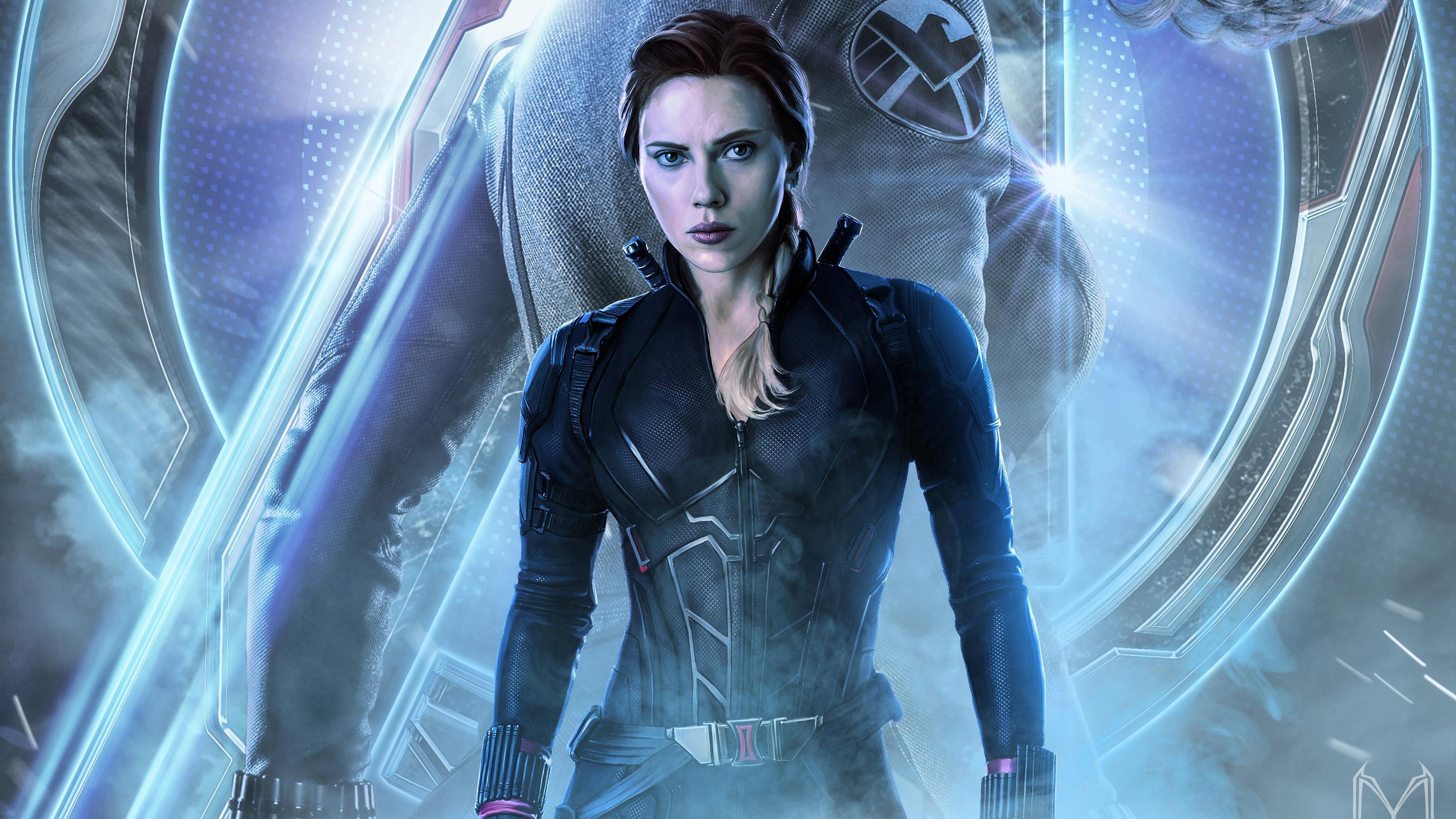 Black Widow Endgame Wallpapers Wallpaper Cave