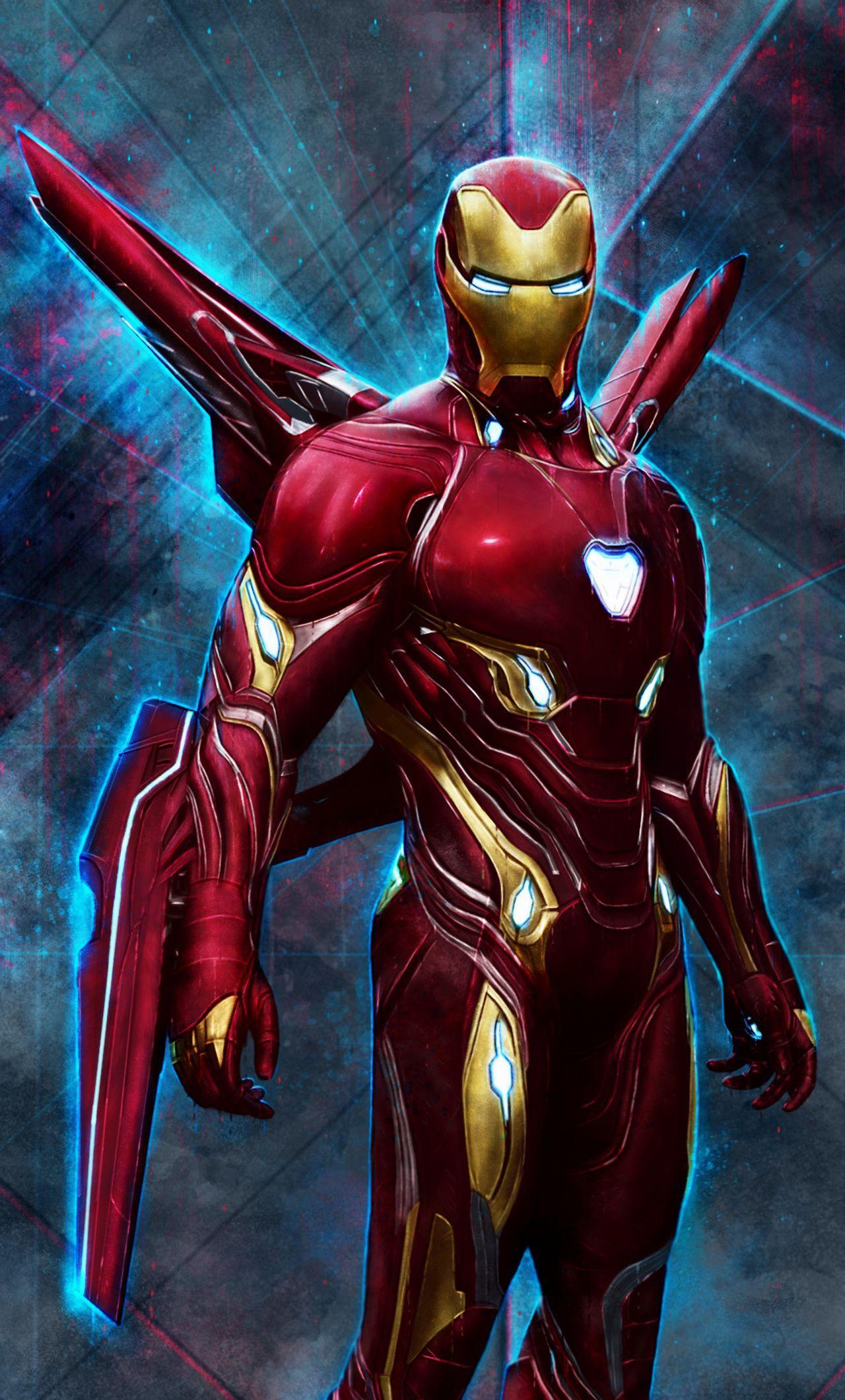 Iron Man Mark 85 iPhone Wallpapers - Wallpaper Cave
