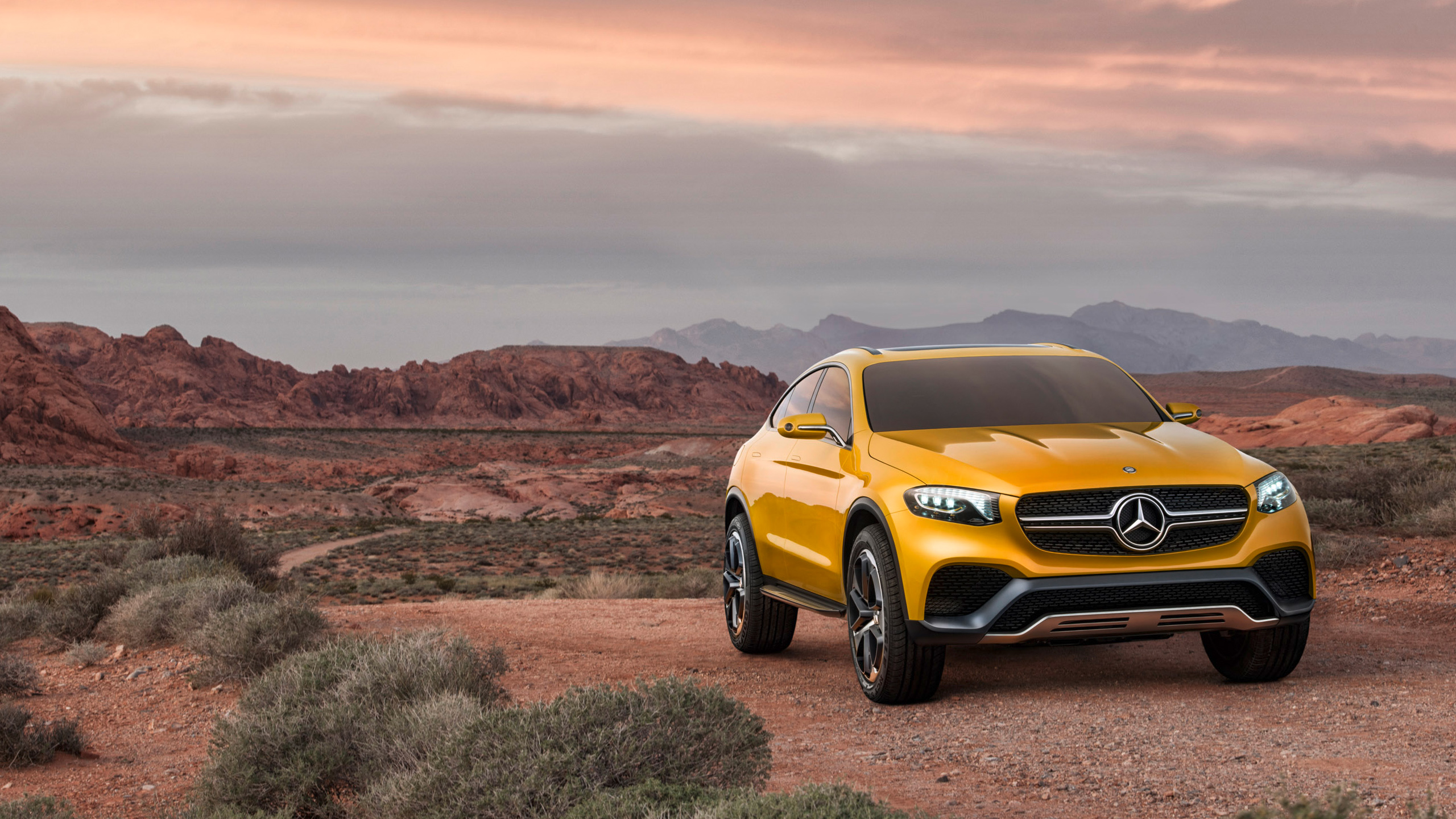 2015 Mercedes Benz GLC Coupe Concept Wallpapers