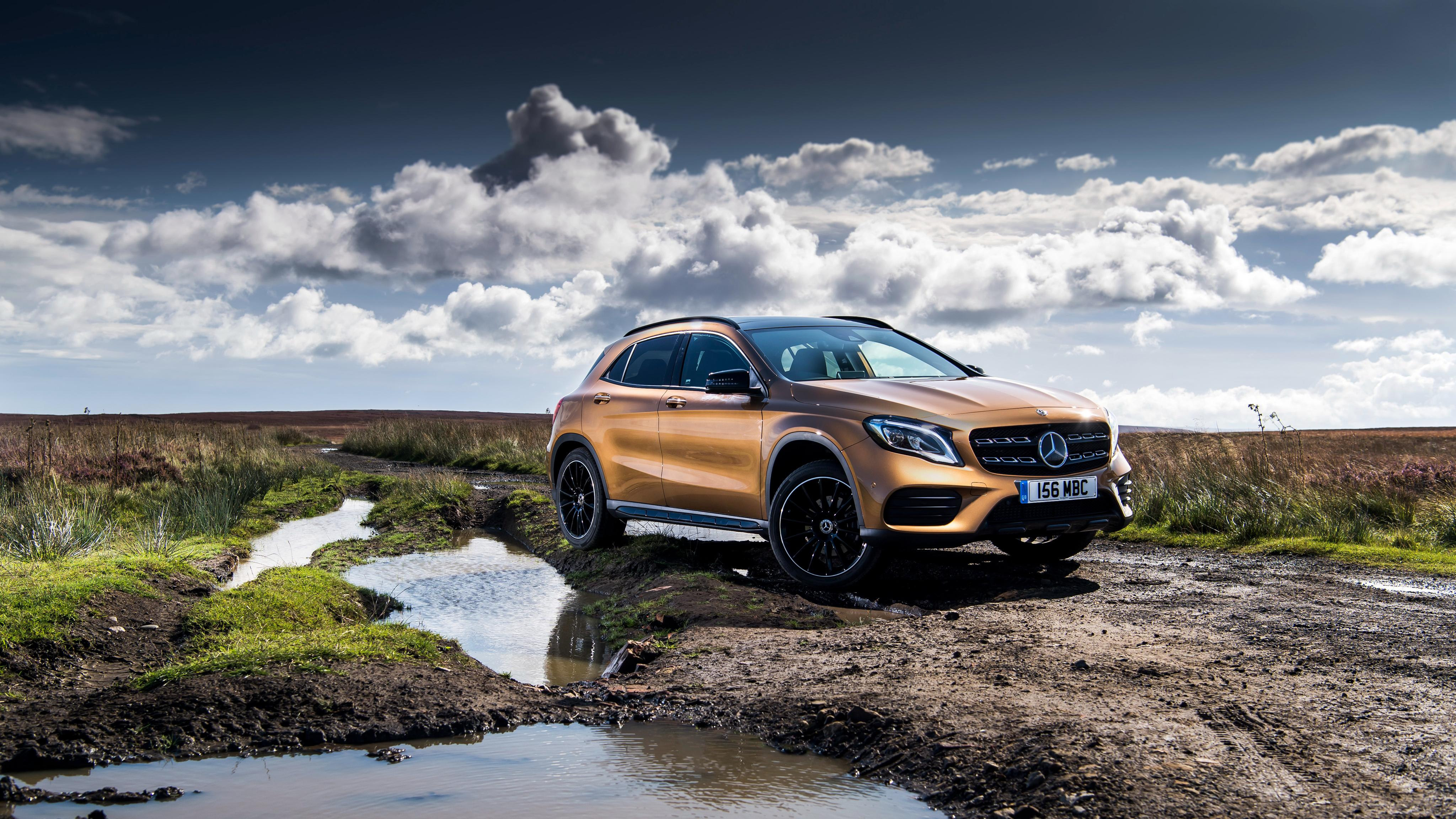 2017 Mercedes Benz GLA 220d 4MATIC AMG Line 4K Wallpaper | HD Car ...