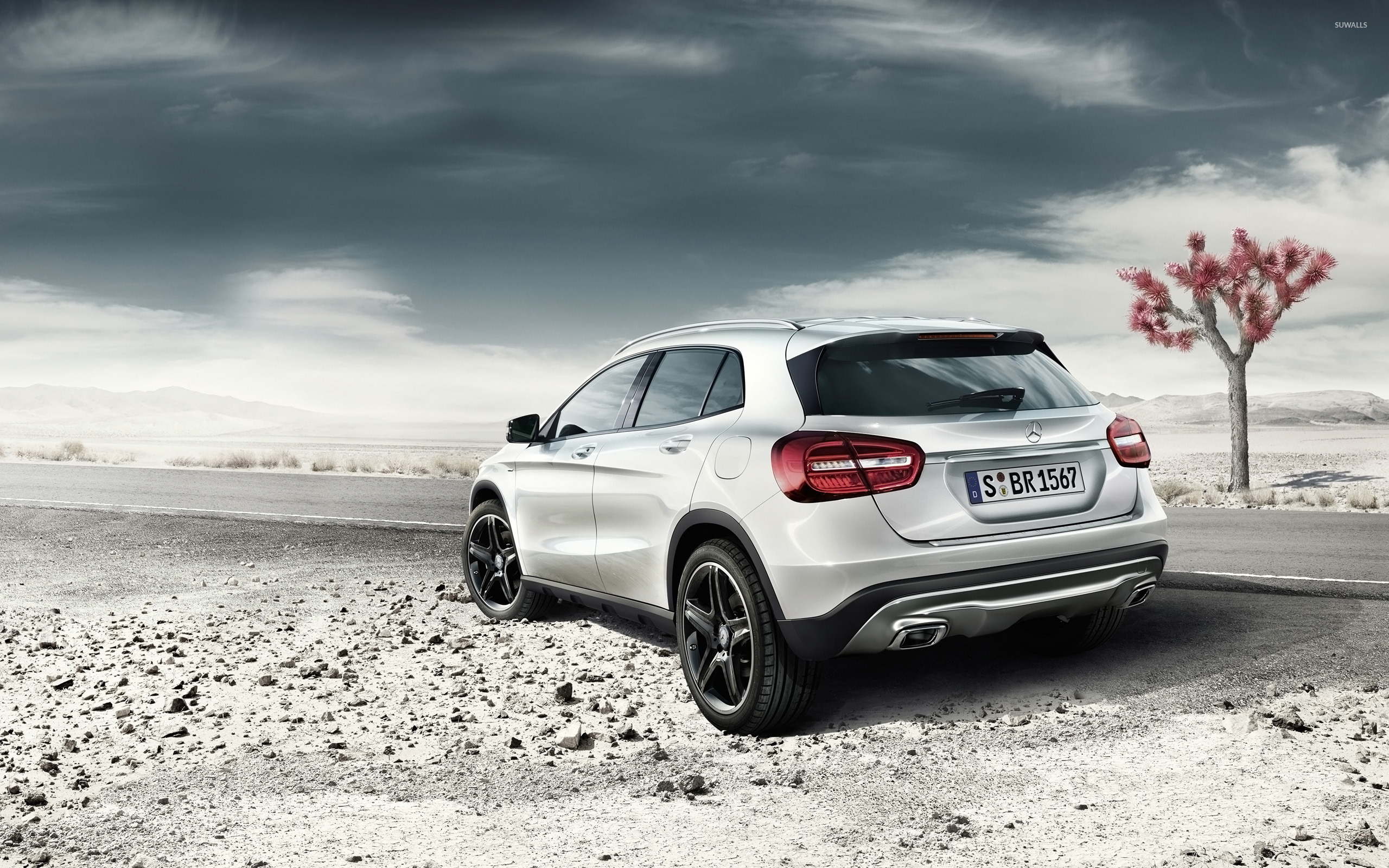2014 Mercedes-Benz GLA [2] wallpaper - Car wallpapers - #26203