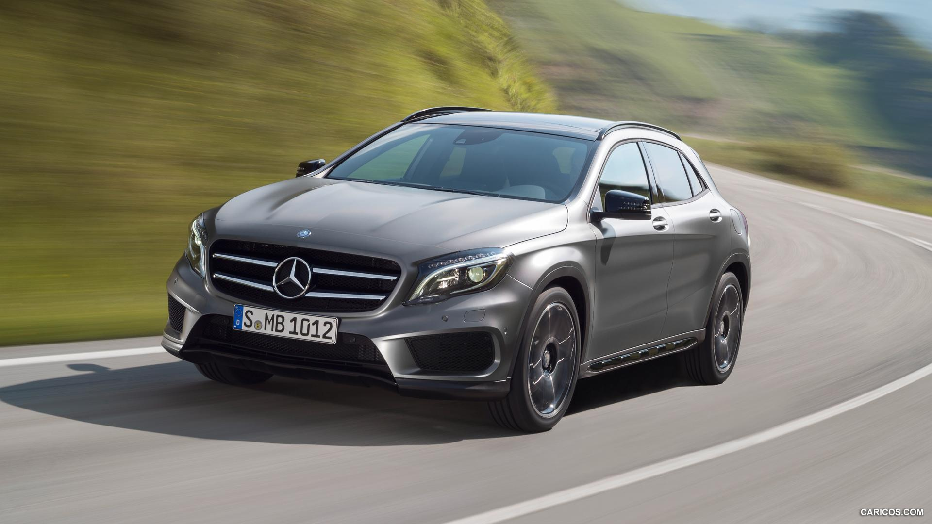 2015 Mercedes-Benz GLA-Class - GLA 250 4MATIC - Front | HD Wallpaper #2
