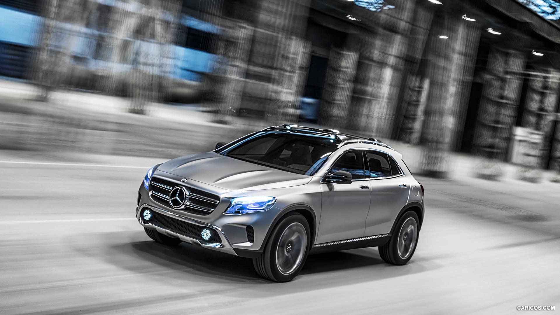 2013 Mercedes-Benz GLA Concept - Front | HD Wallpaper #2