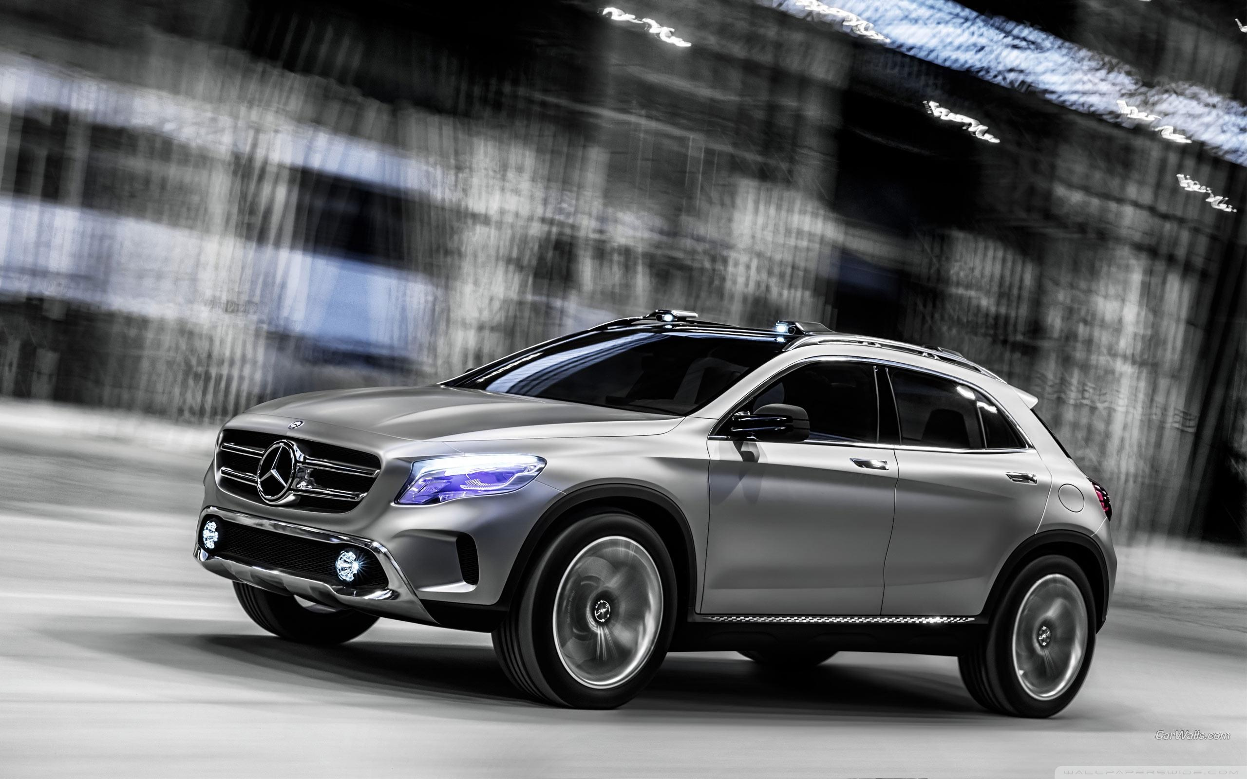 Mercedes Benz GLA Concept ❤ 4K HD Desktop Wallpaper for • Wide ...