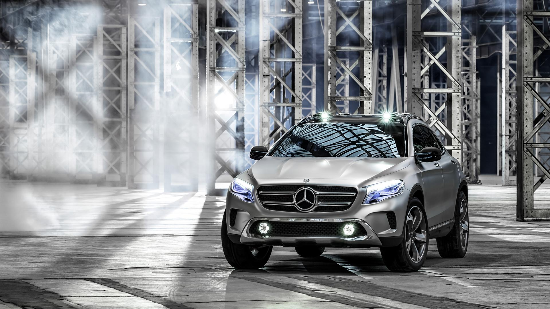 2013 Mercedes-Benz GLA Concept Wallpapers & HD Images - WSupercars